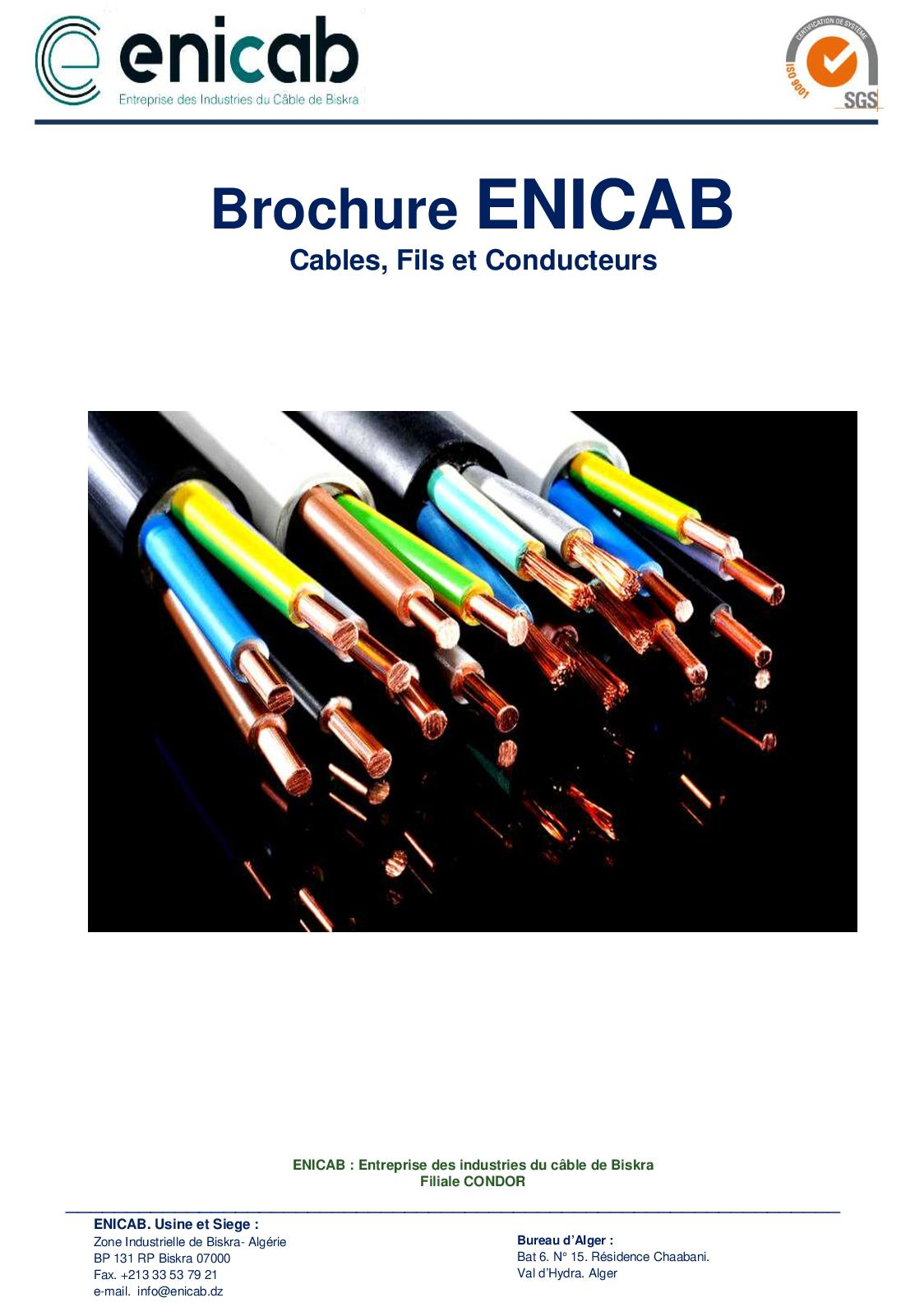 Brochure Enicab