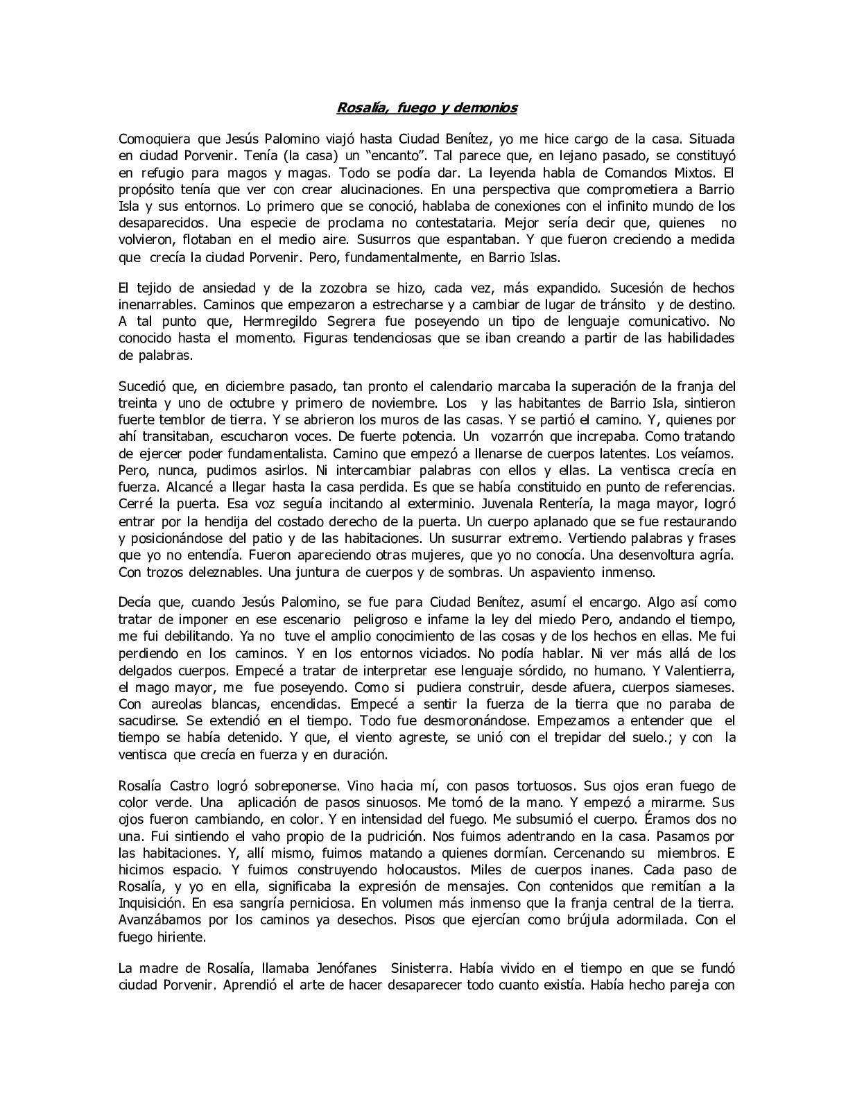 Calaméo - Rosalafuegoydemonios
