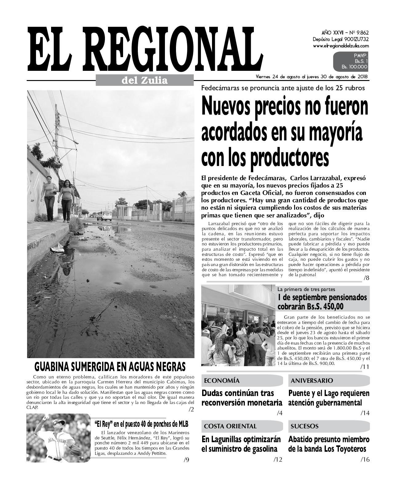 Calaméo - El Regional del Zulia 24-08-2018