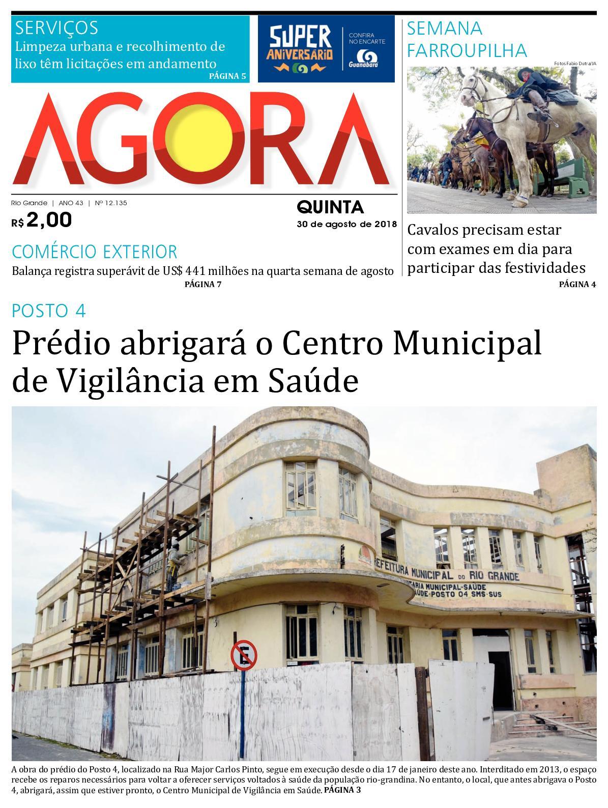 Calaméo - Jornal Agora - Edição 12135 - 30 de Agosto de 2018 6db4ae1692a22