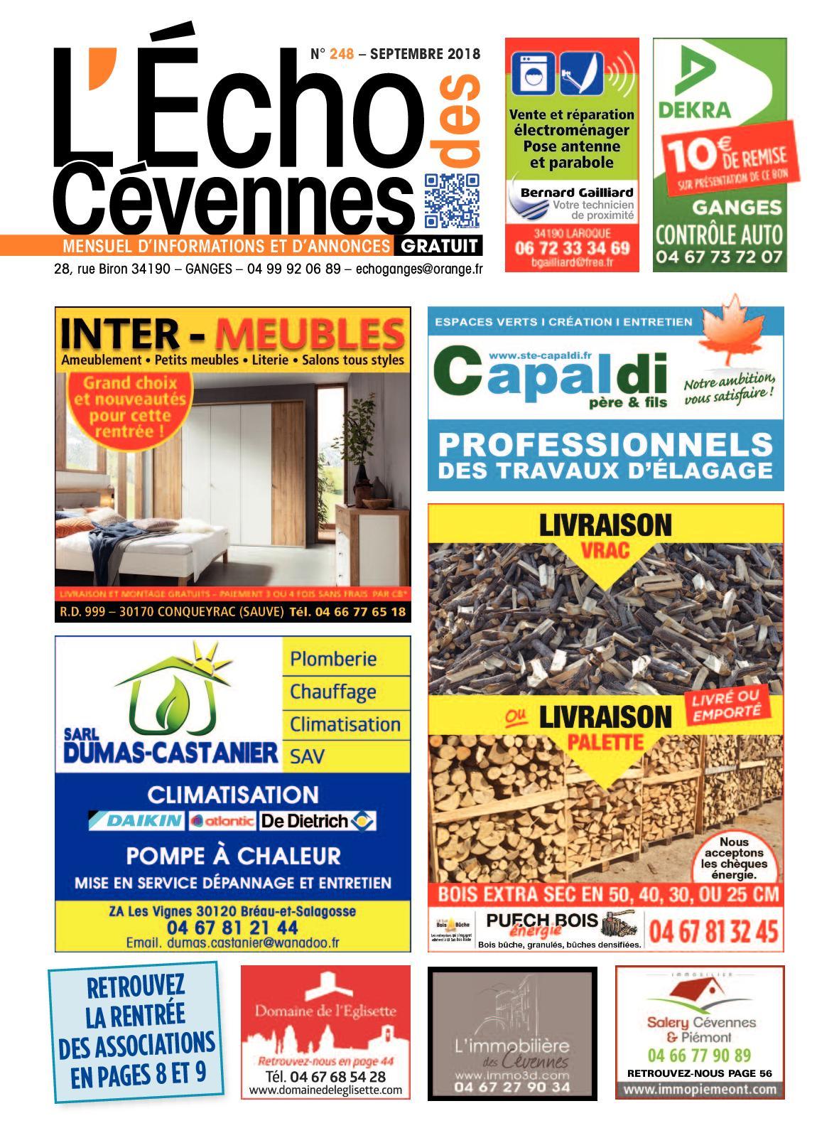 Cevennes 248 2018 Des Sept Calaméo L'echo pfwPwv