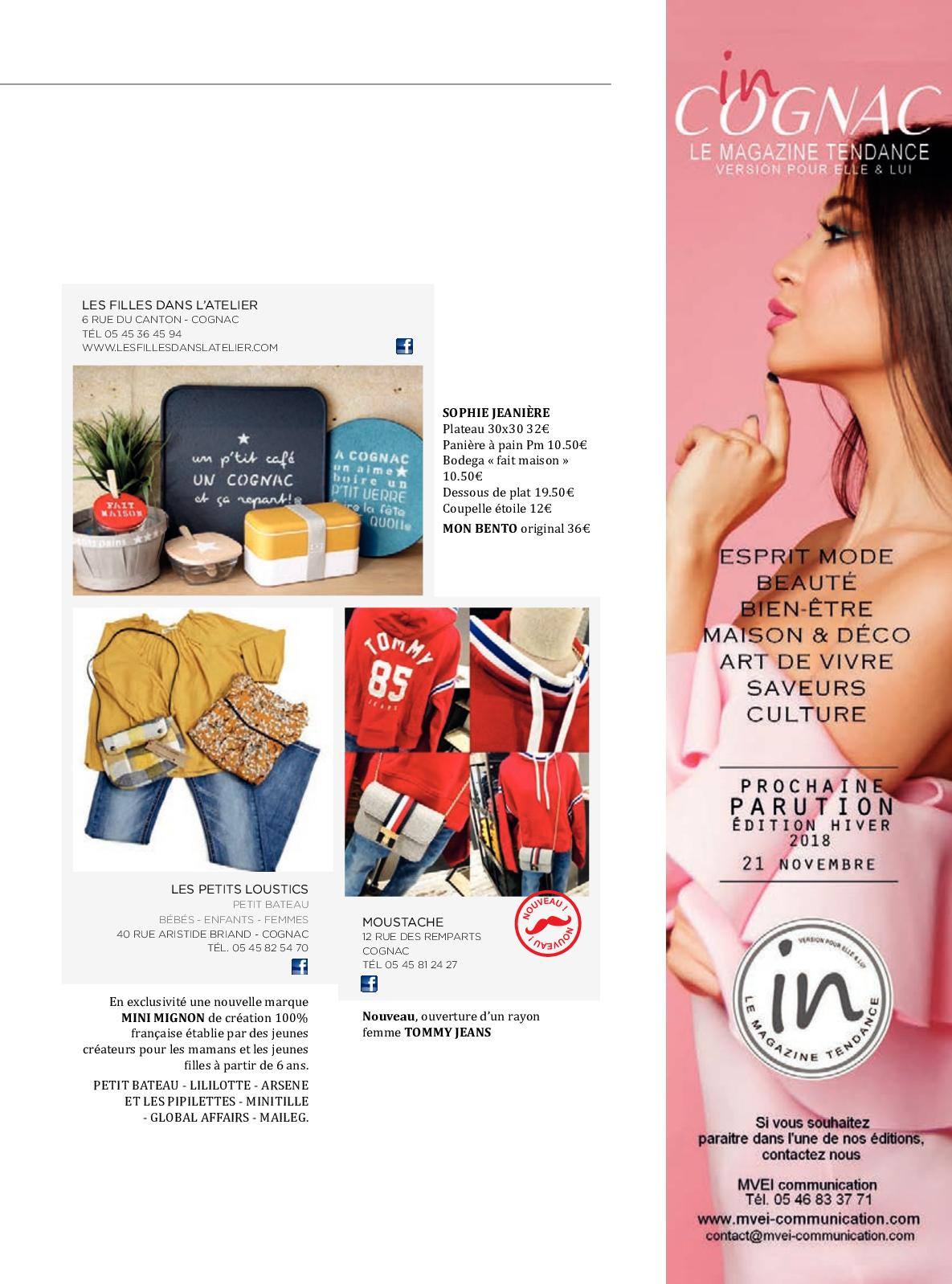 Magazine In Cognac Automne 2018 - CALAMEO Downloader 35d2a669ce3