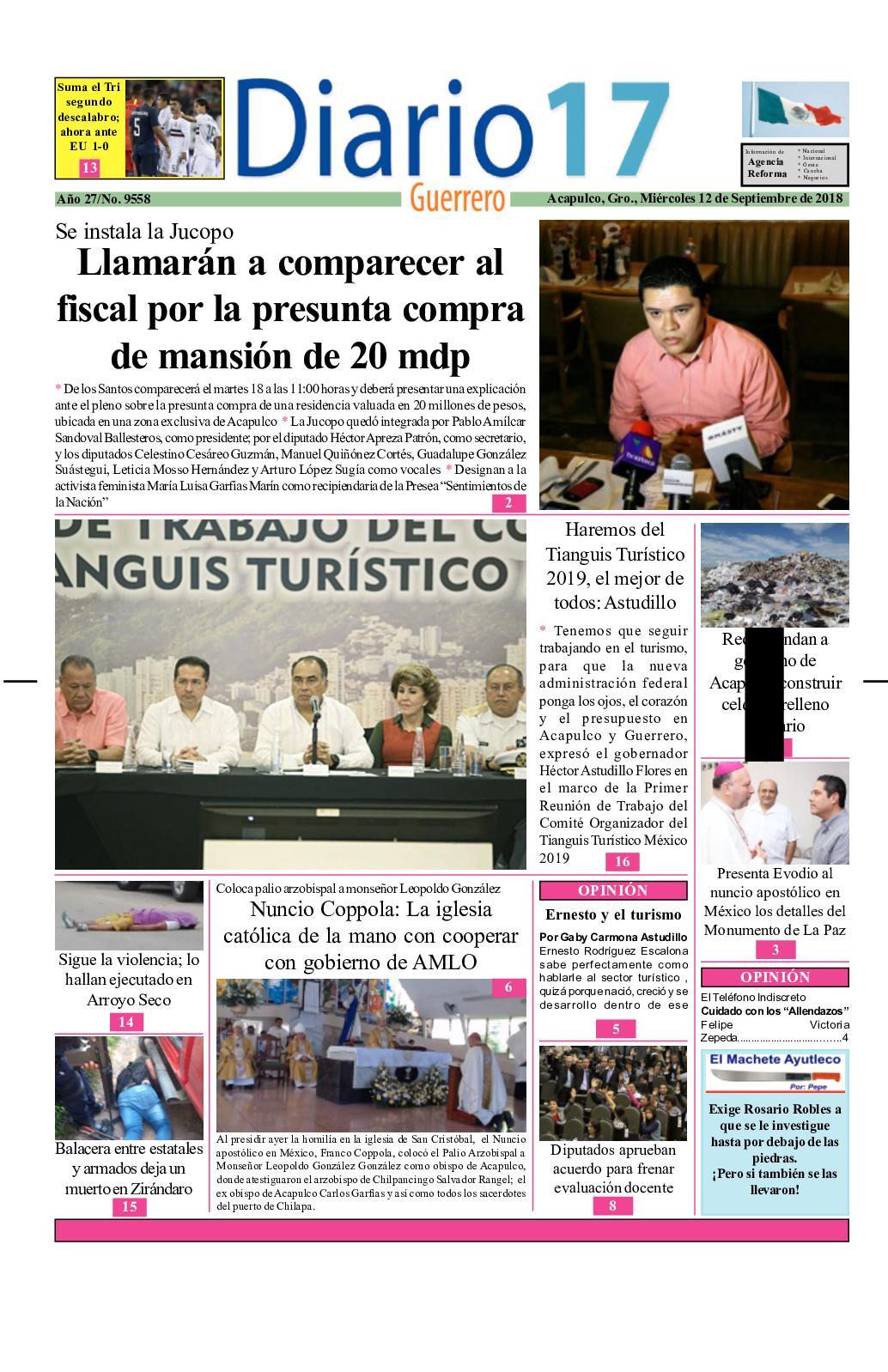 Calaméo - Diario 17 Guerrero