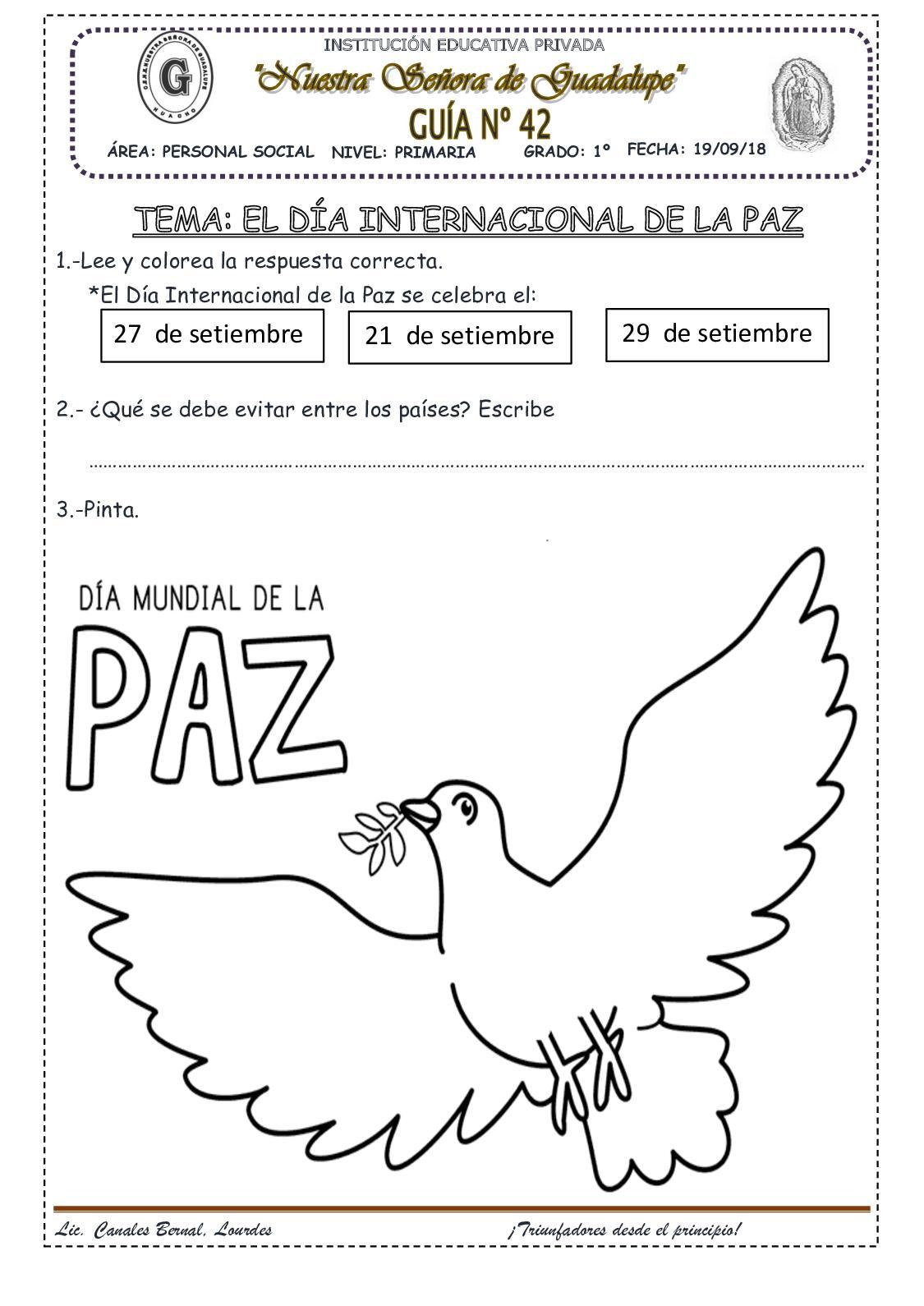 El Día Internacional De La Paz(42)