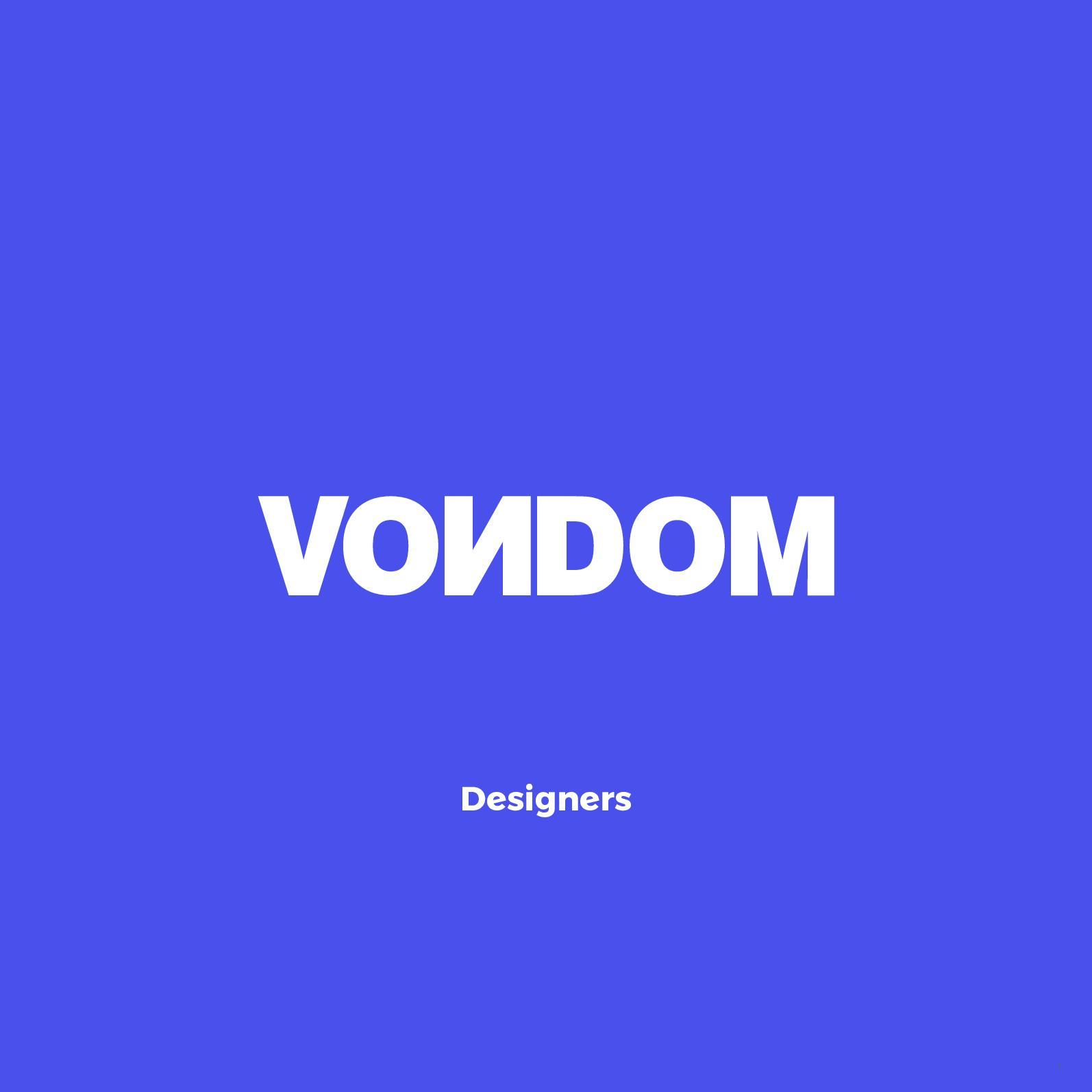 calamo vondom designers