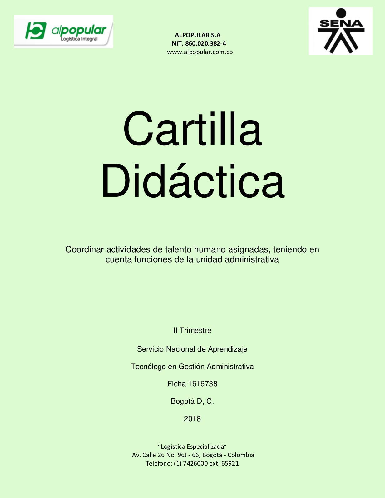 Cartilla Final Calameo