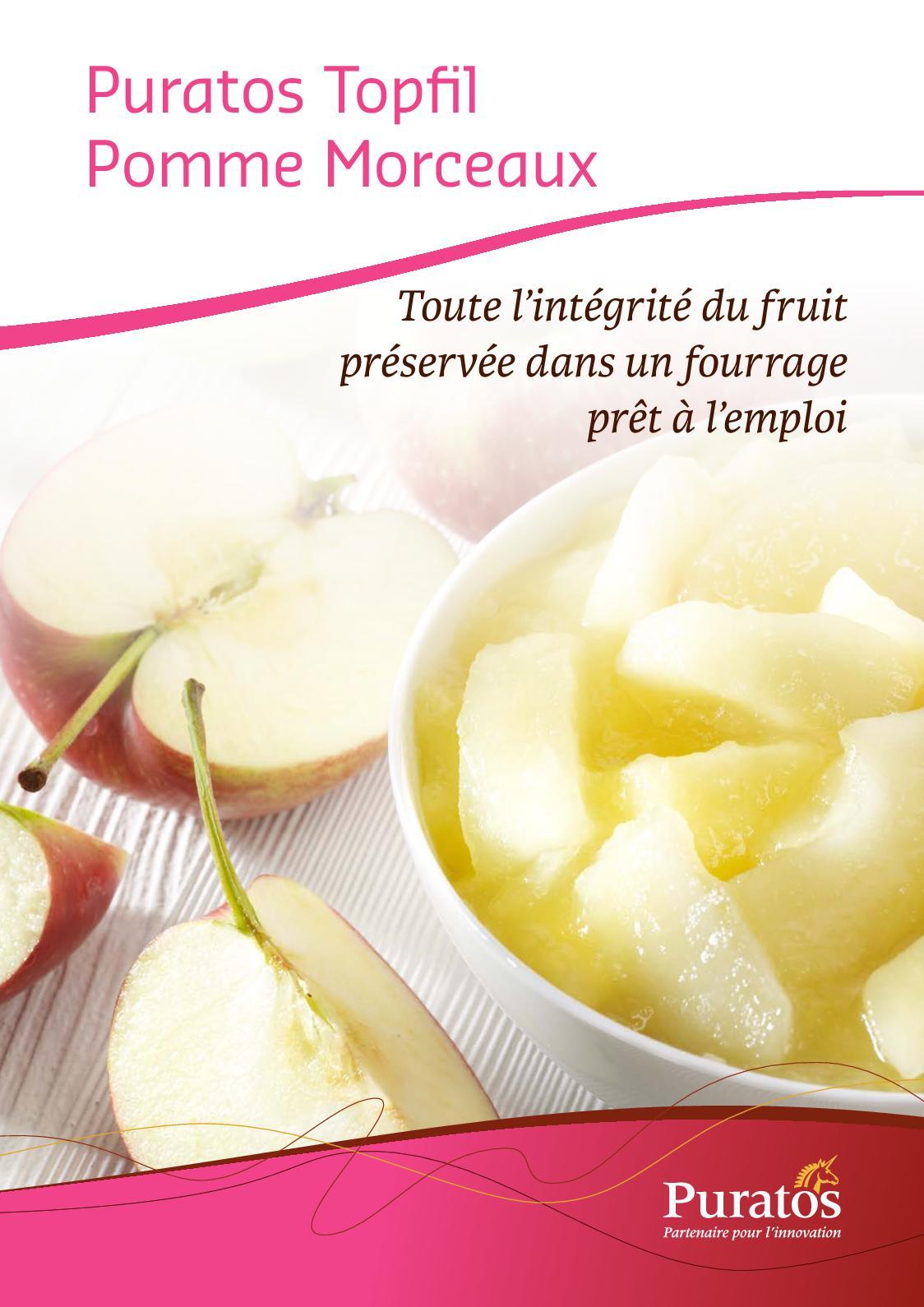 Fiche Puratos Topfil Pomme Morceaux 86% -2018