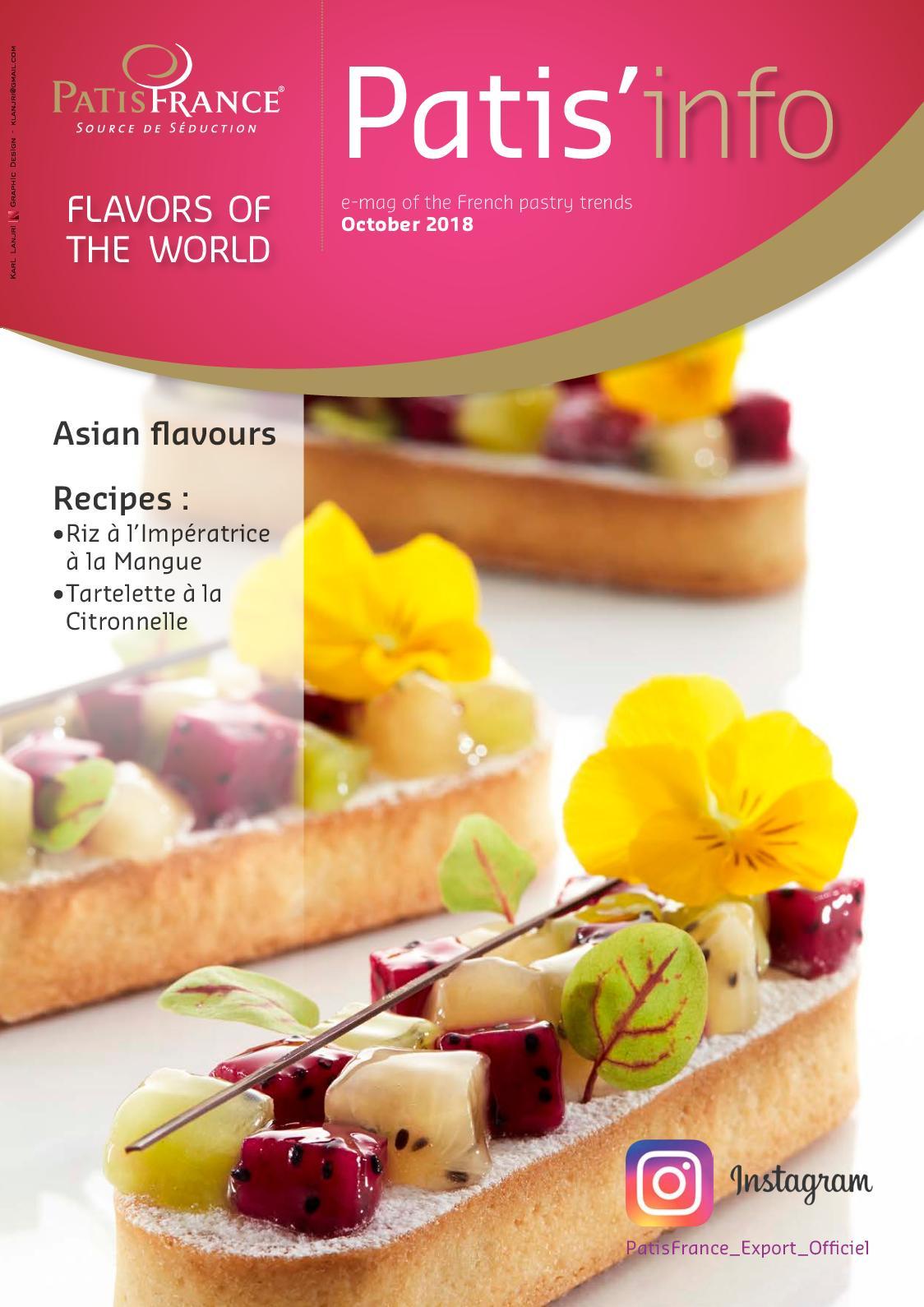 Patis'info Magazine 08 Octobre 2018 ENG.