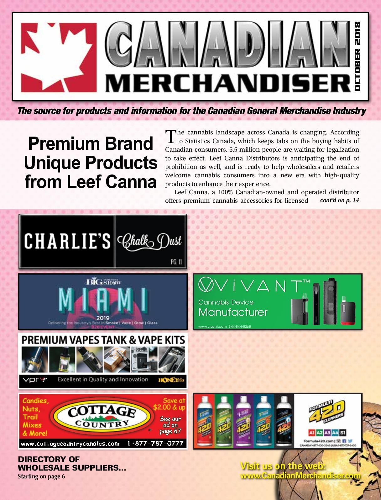 Calamo Canadian Merchandiser Oct2018 Speaker Vertigo Vt 65 B