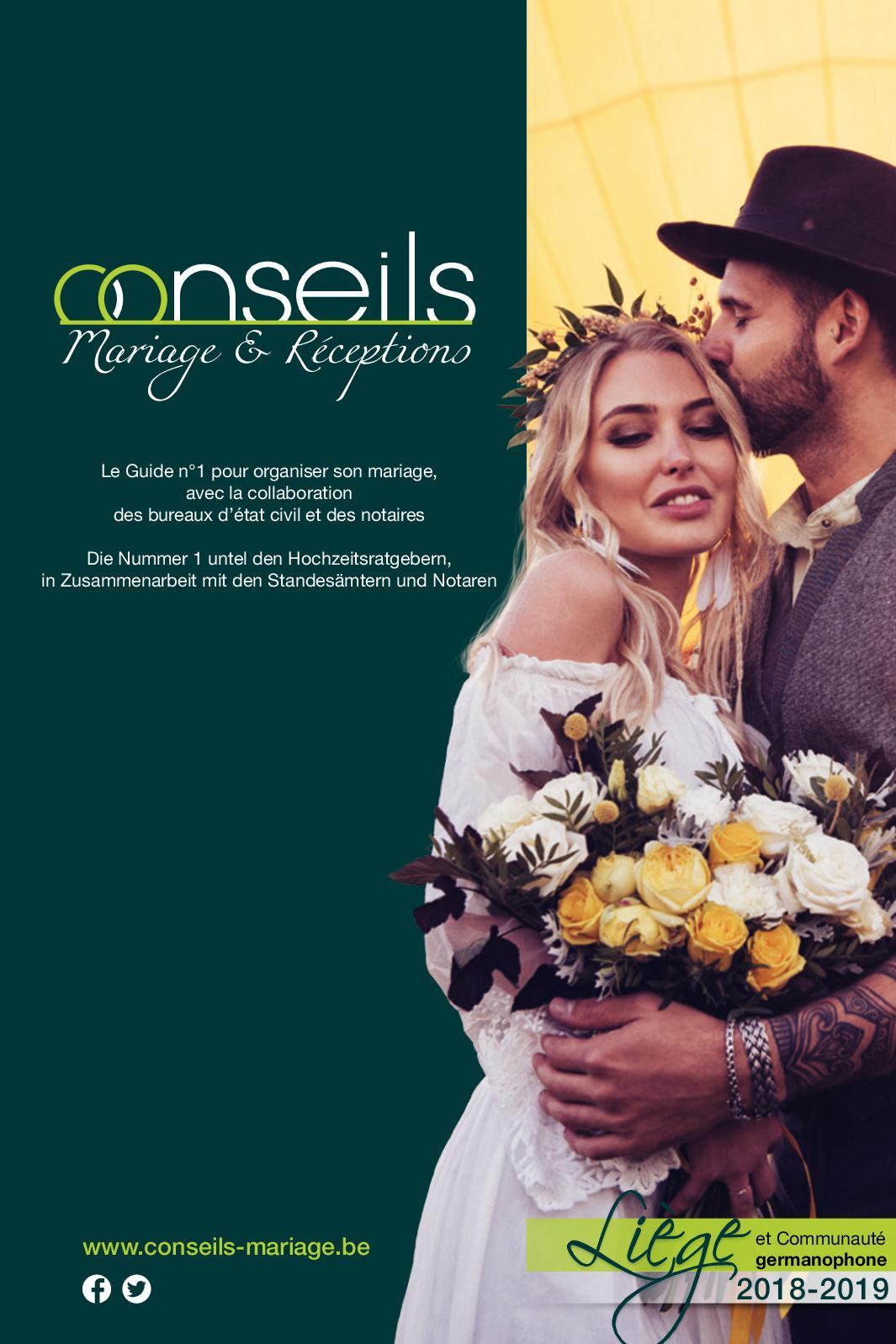 Calaméo - GUIDE CONSEILS MARIAGE   RÉCEPTIONS  5be3d3b8055
