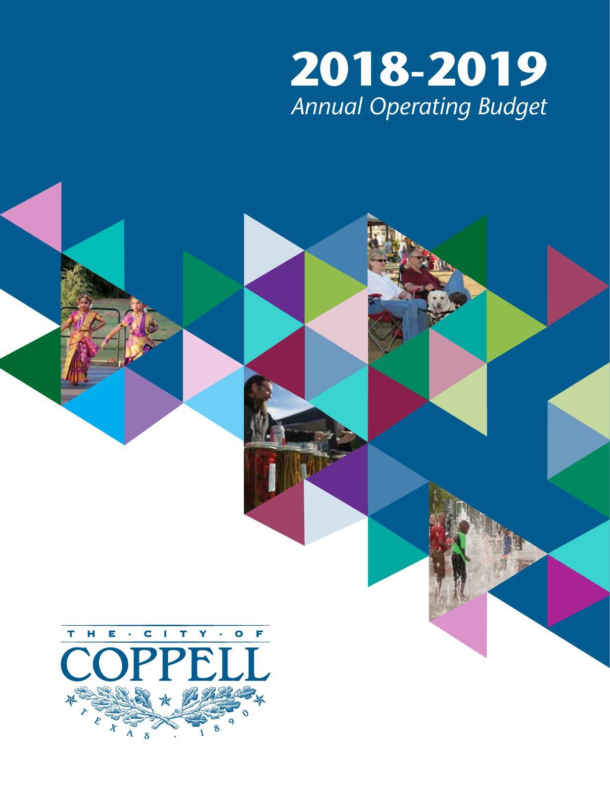 calaméo 2018 2019 annual operating budget