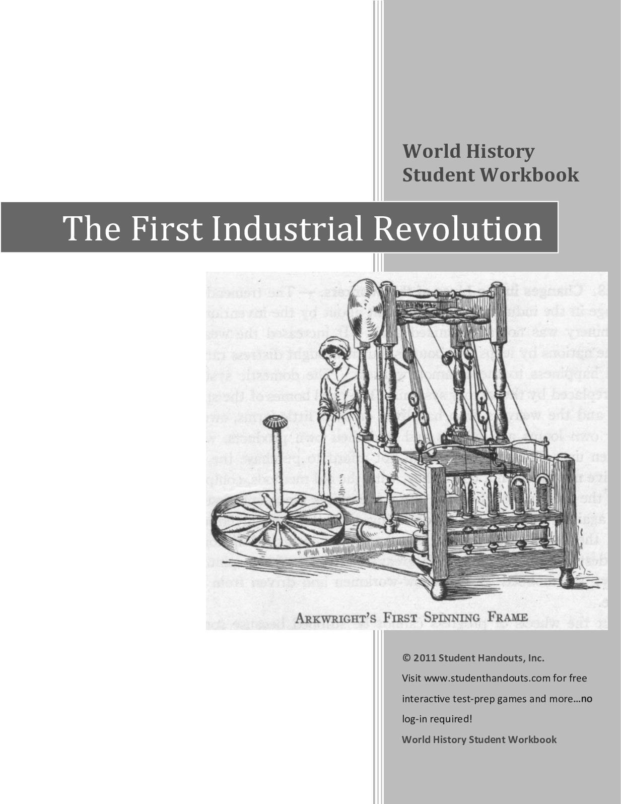 Calaméo - First Industrial Revolution workbook