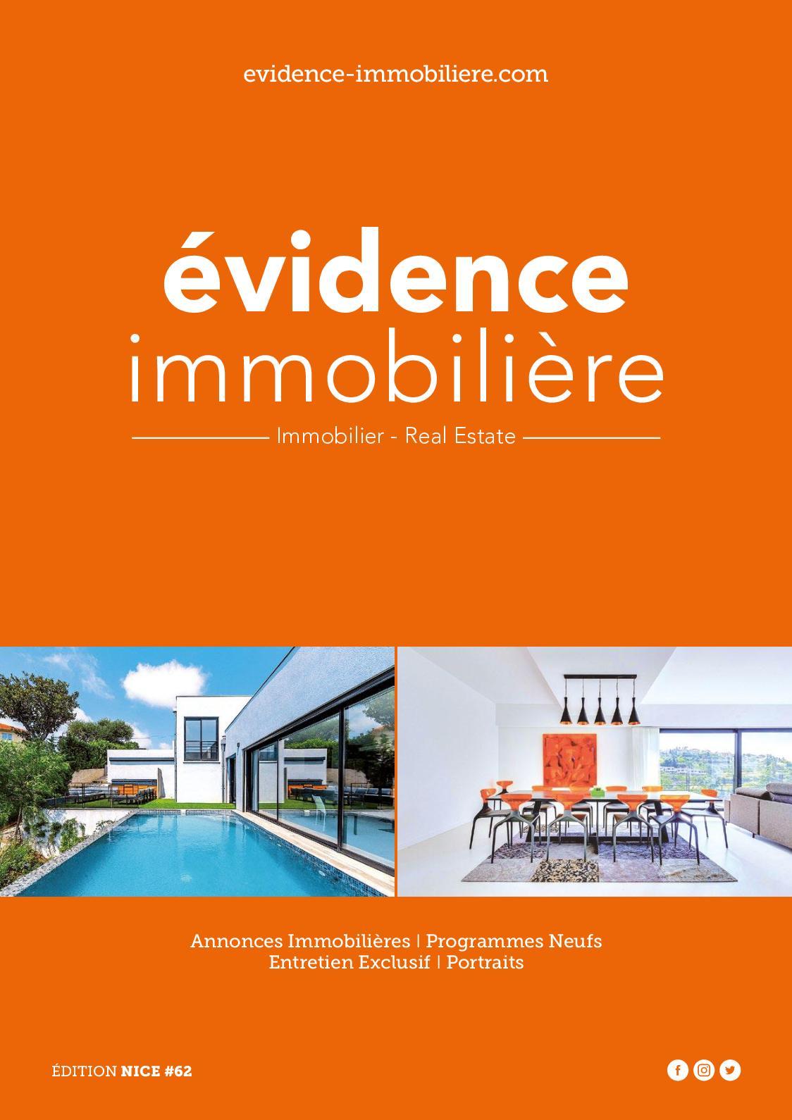Calaméo - Evidence Immobilière Côte d Azur N°62 - Oct. 2018 228aaade374c