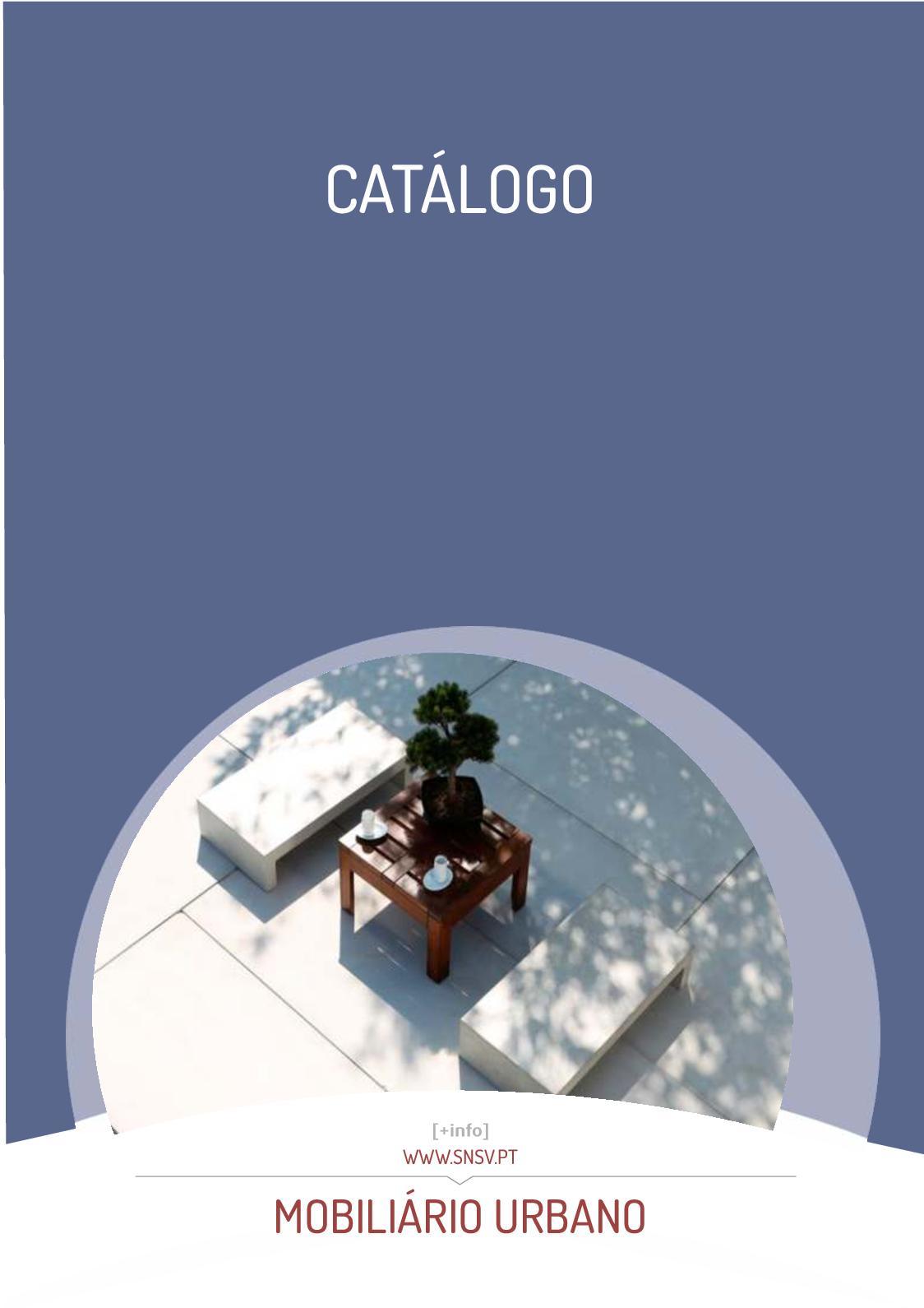 Catálogo de Mobiliário Urbano