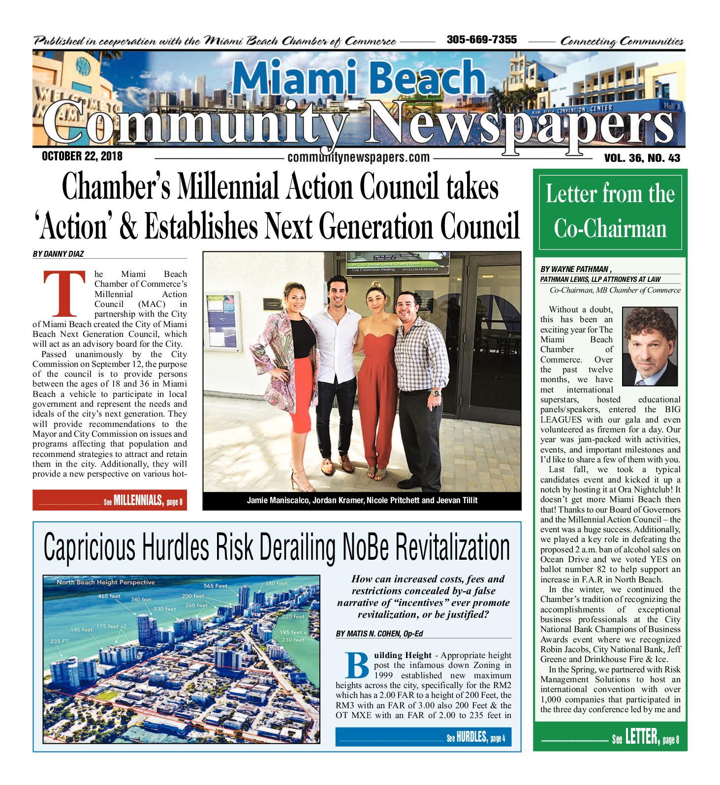 Calaméo Miami Beach News 10 22 2018