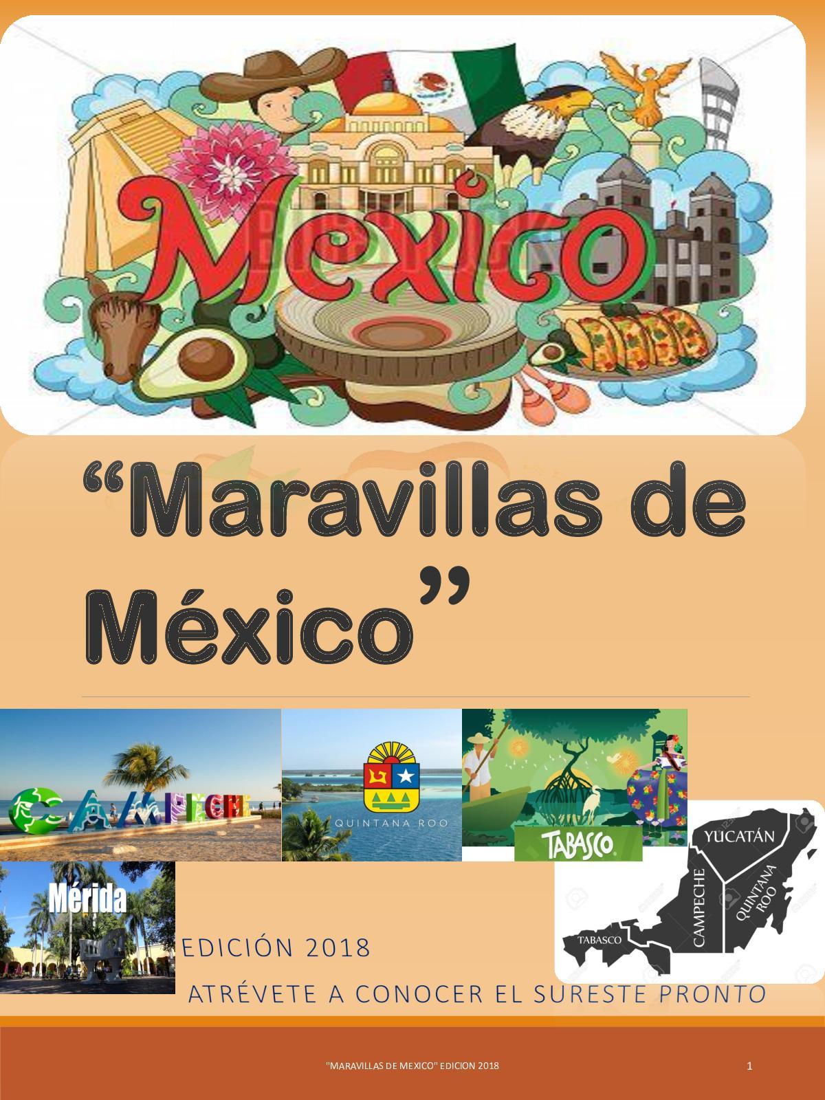 3a Revista Digital Maravillas De Mexico 1