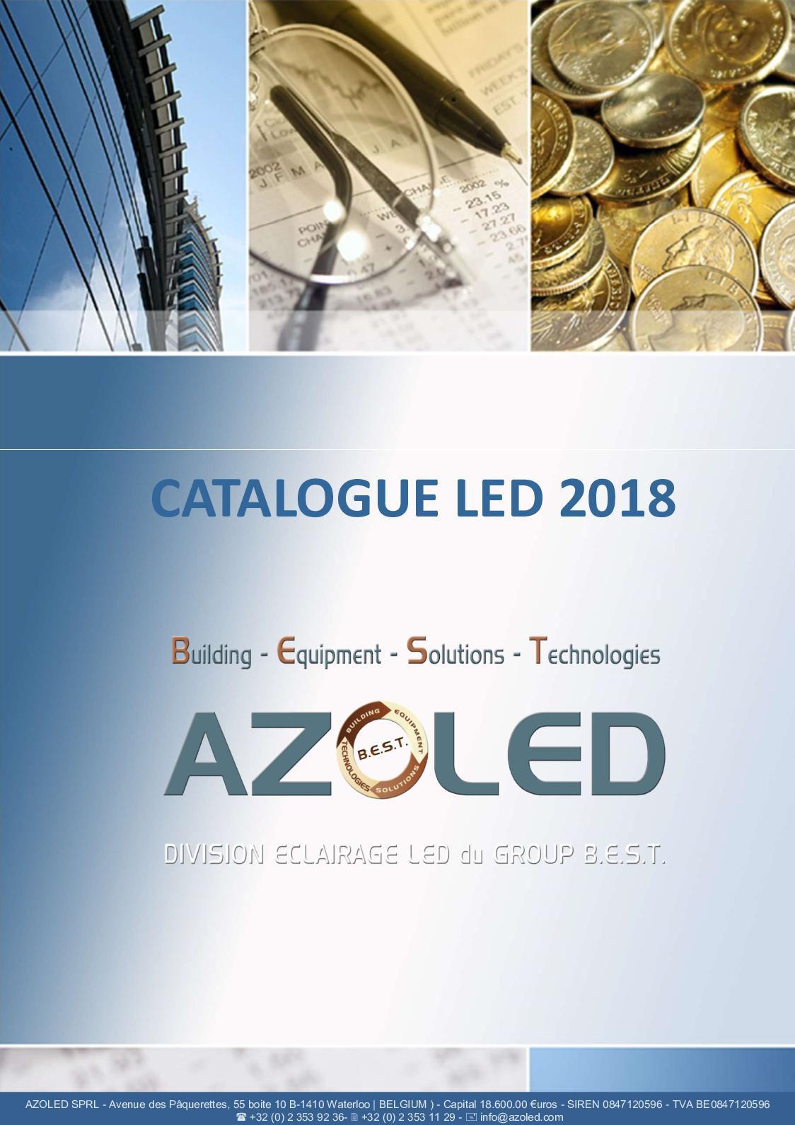 Catalogue Azoled Novembre 2018