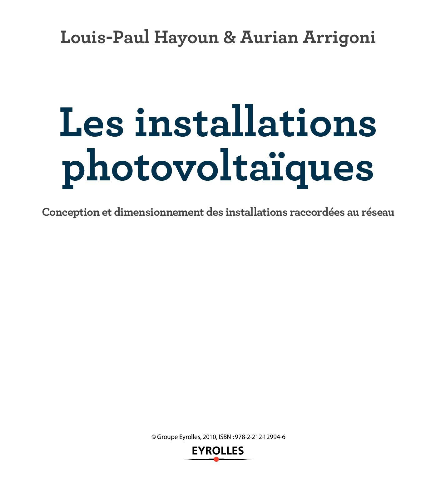 Les installations photovoltaïques - Chap-1_Hayoun.pdf