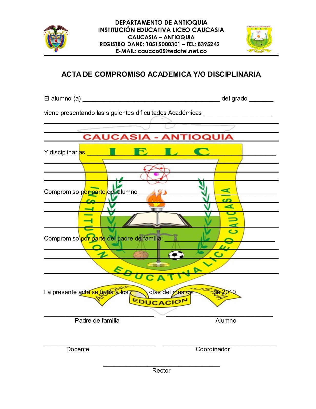 01 Acta De Compromiso Acad Y Disc