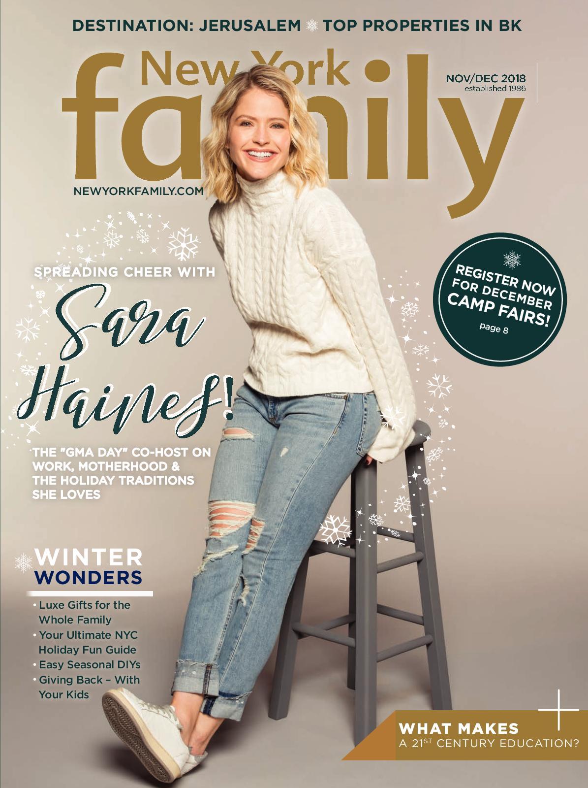 NEW YORK FAMILY NOV|DEC 2018