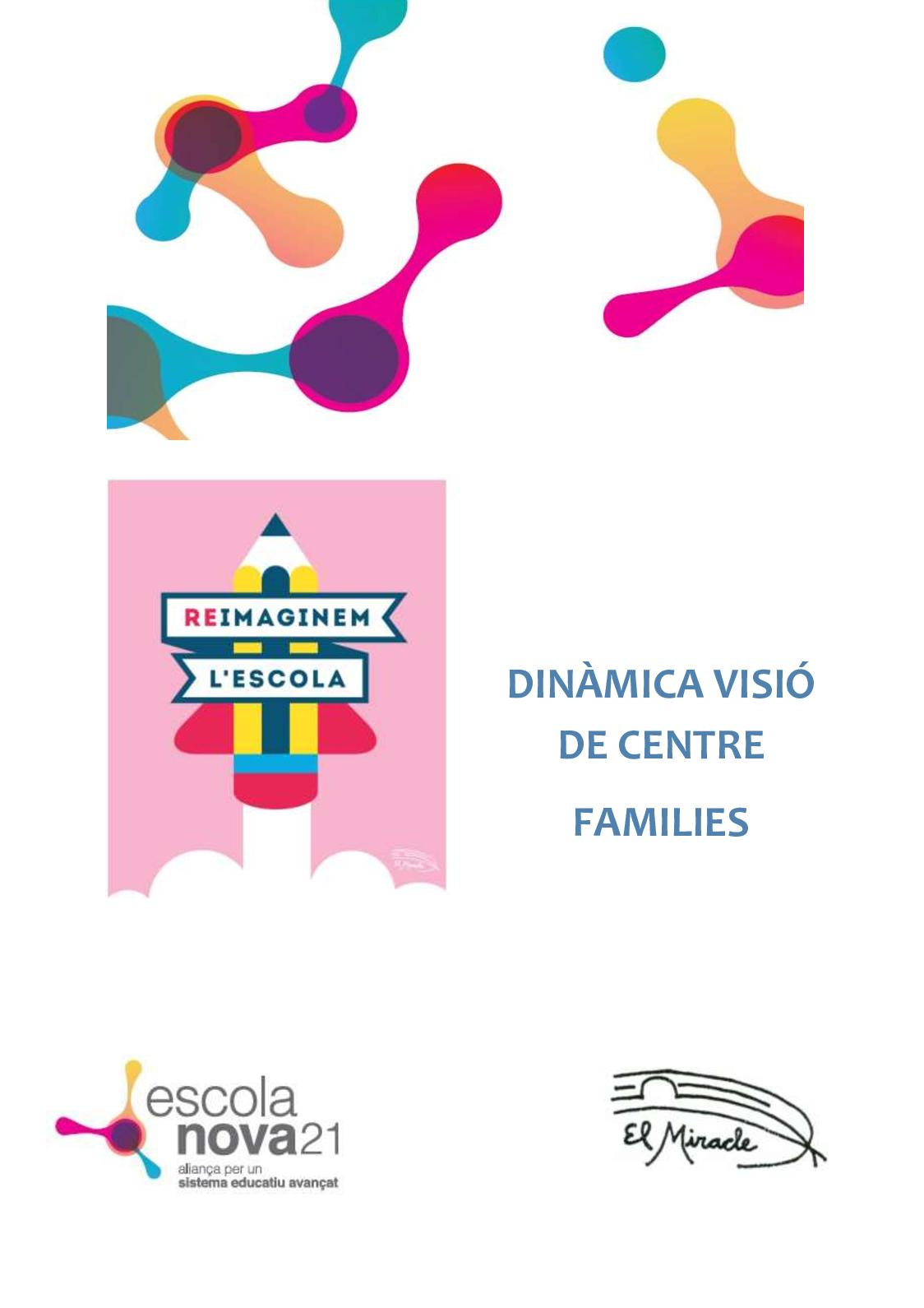 Document Visió De Centre Families