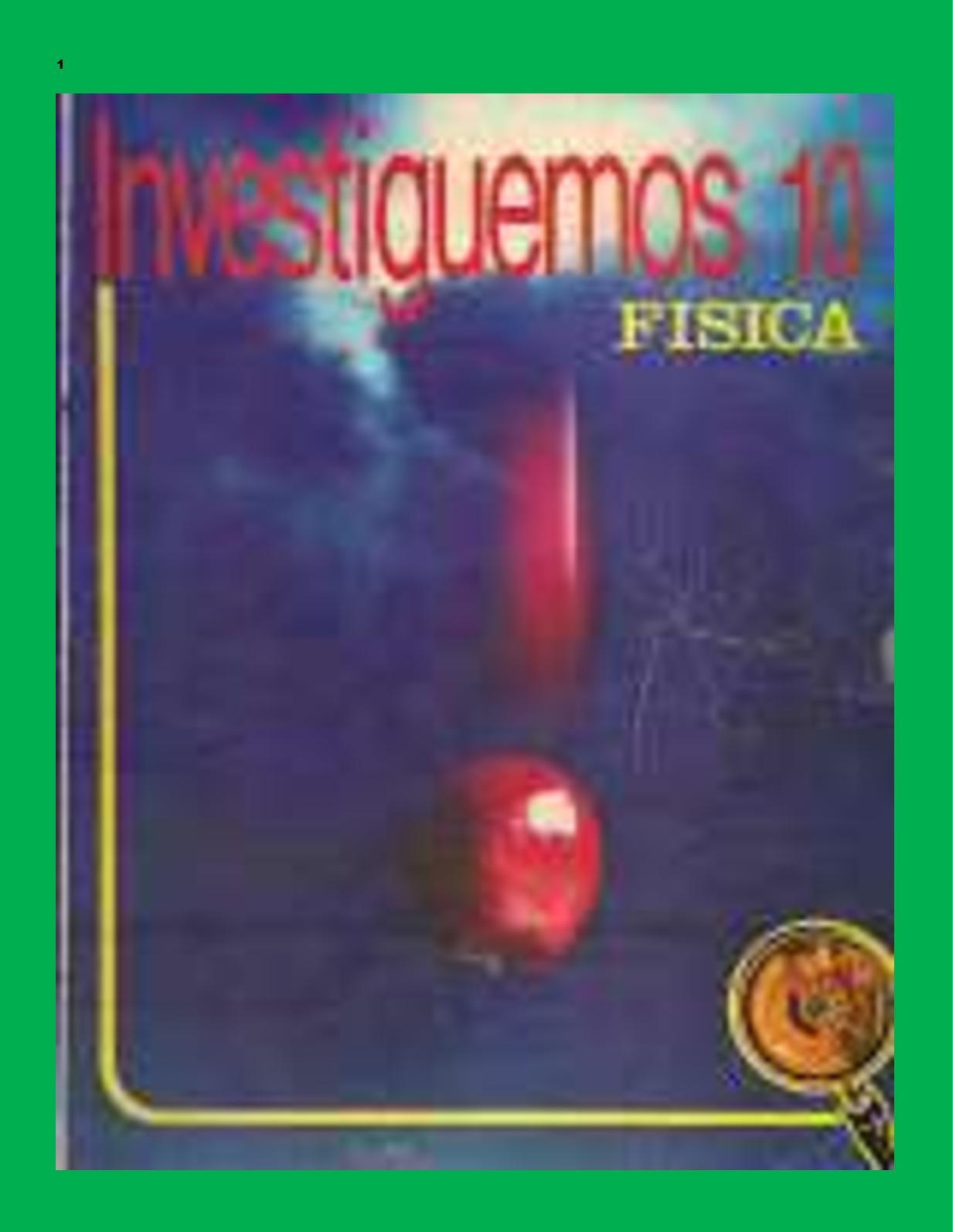Investiguemos Física 10