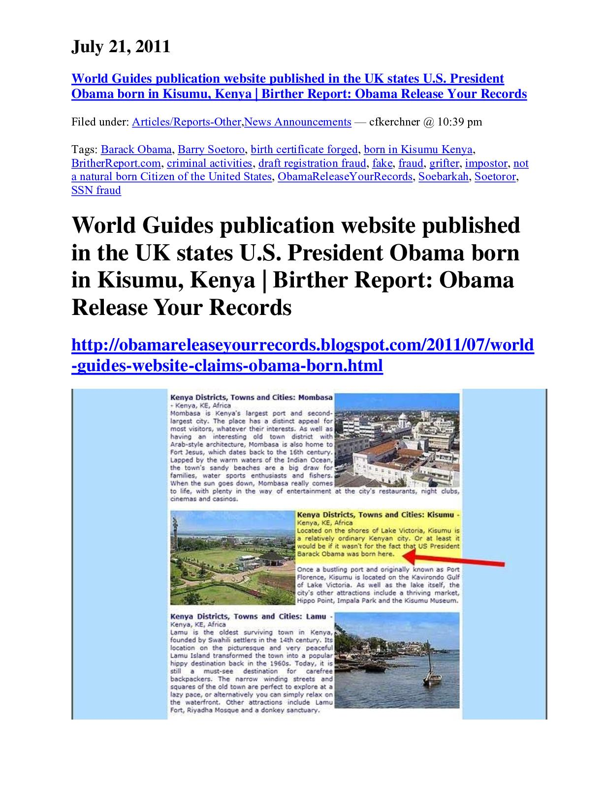 Calamo World Guide Publication In The Uk States In Website Obama