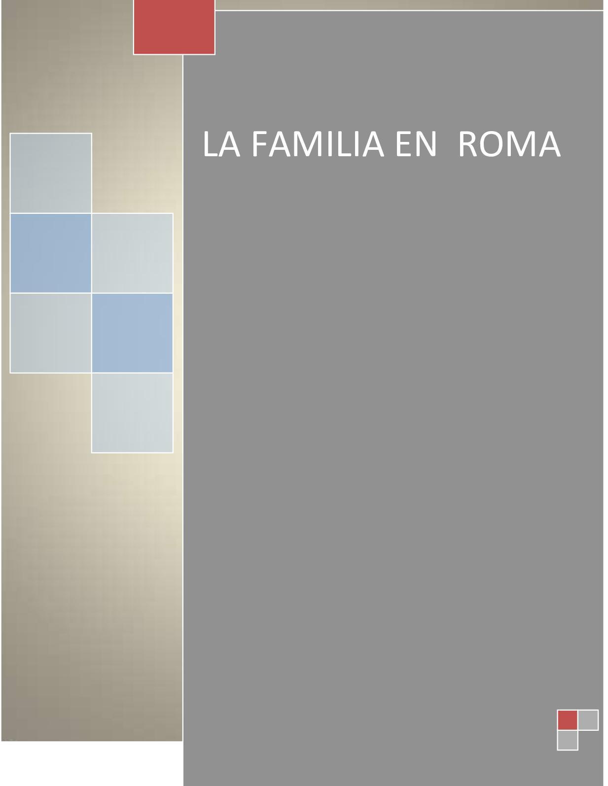 Matrimonio Romano Iustae Nuptiae : Calaméo familia romana sam y fany