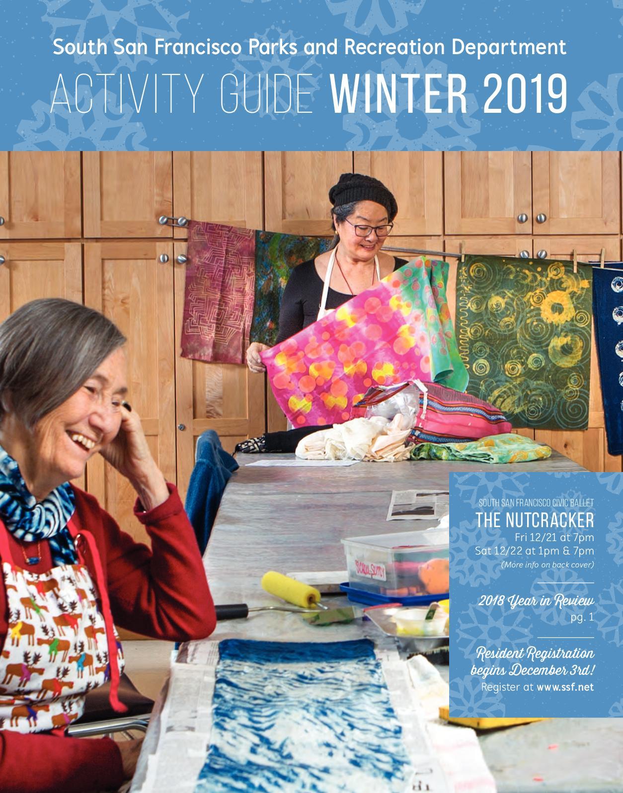 Calaméo South San Francisco Winter 2019 Activity Guide