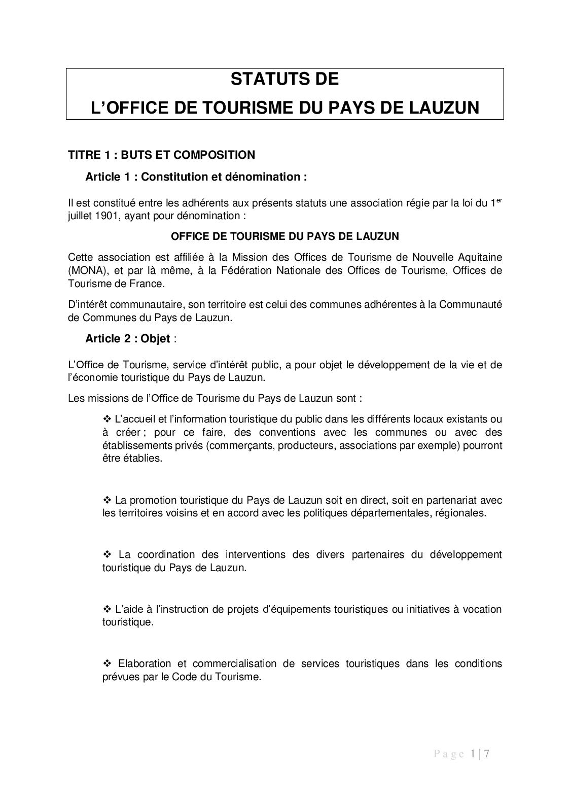 Calameo Statuts De L Otpl 2018 Valides 15112018