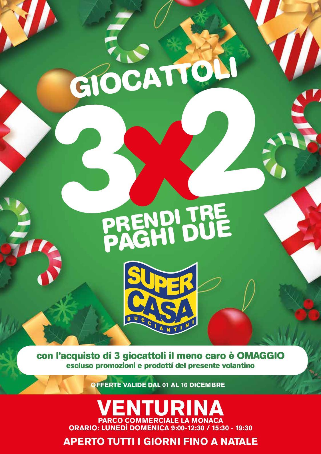 Volantino promozioni Bucciantini Supercasa dal 01-12-2018 al 16-12-2018