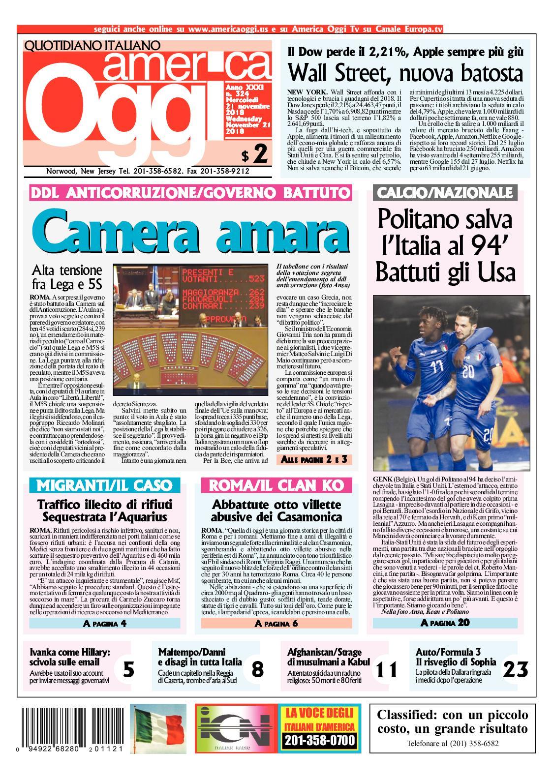 Calaméo - America Oggi 21 Novembre 2018 1b50c447f4f