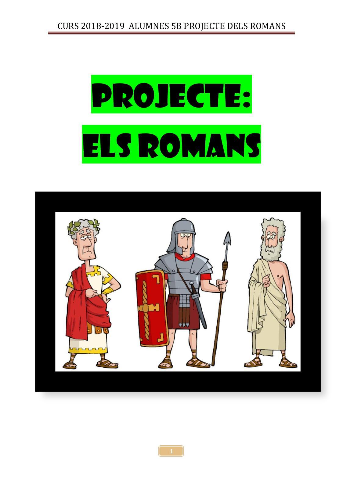 5b Projecte Dels Romans