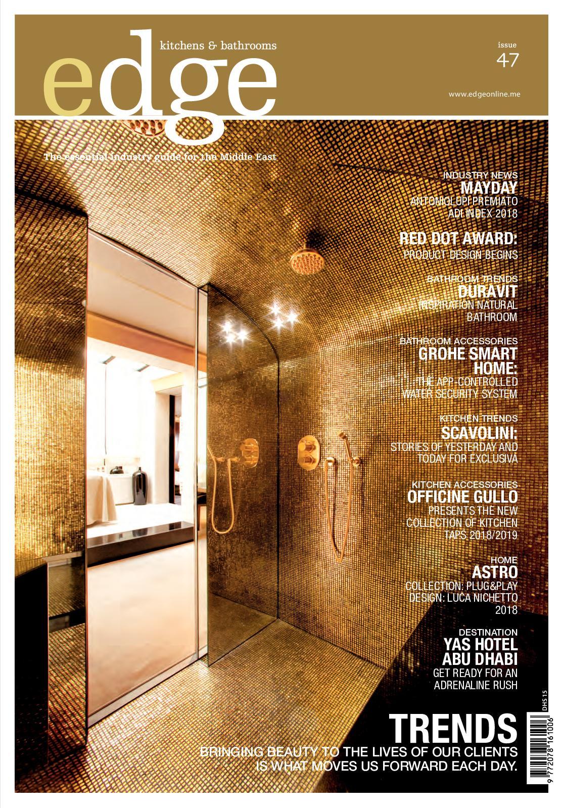 Calameo Edge Issue47 Nov Jan 2018 Gcc - Brillante-glass-vanity-by-antonio-lupi