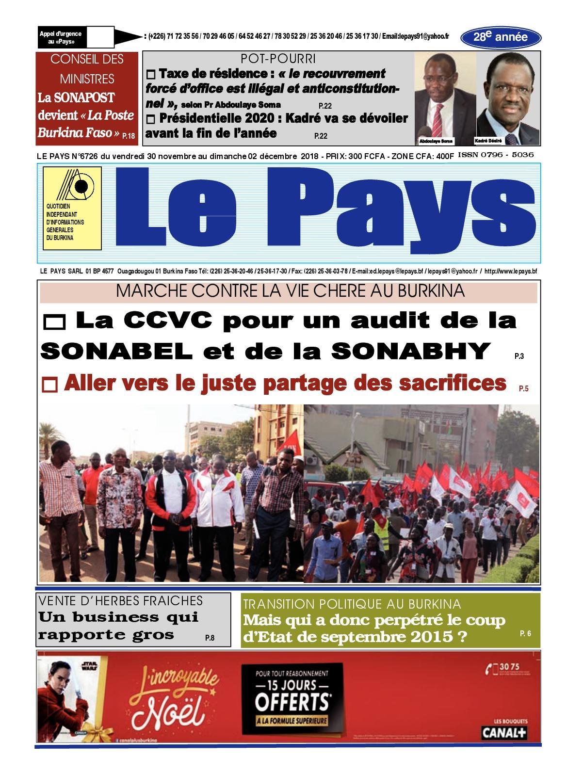 c8d0bba7e54c55 Calaméo - Le Pays Du 30 11 Au 02 12 2018
