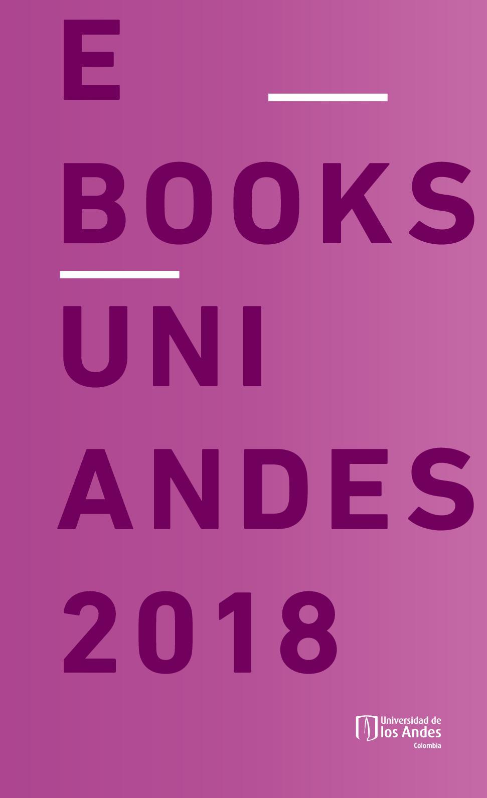 Catálogo E Books Ediciones Uniandes