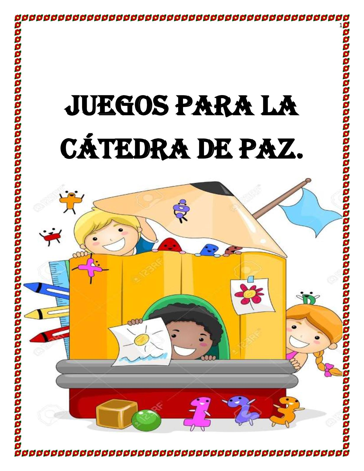 Cartilla Catedra De Paz