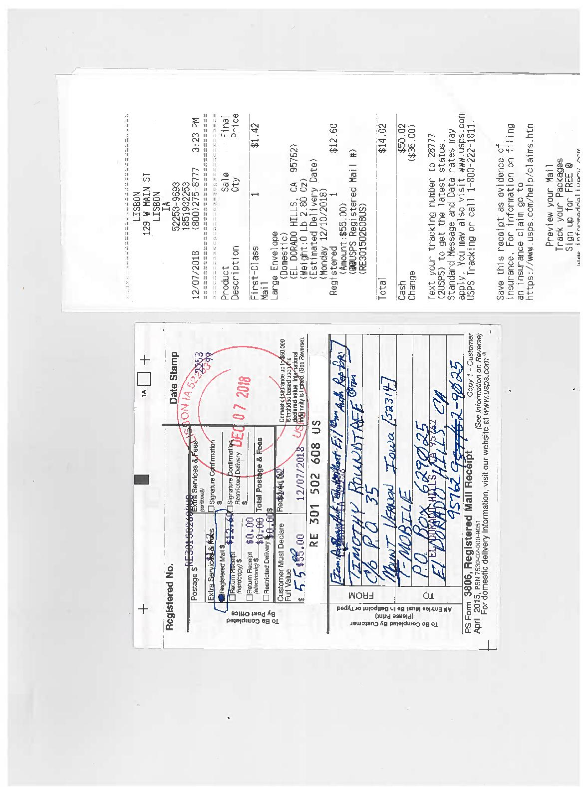Calameo Second Affidavit Of Truth And Acceptance For Value To T