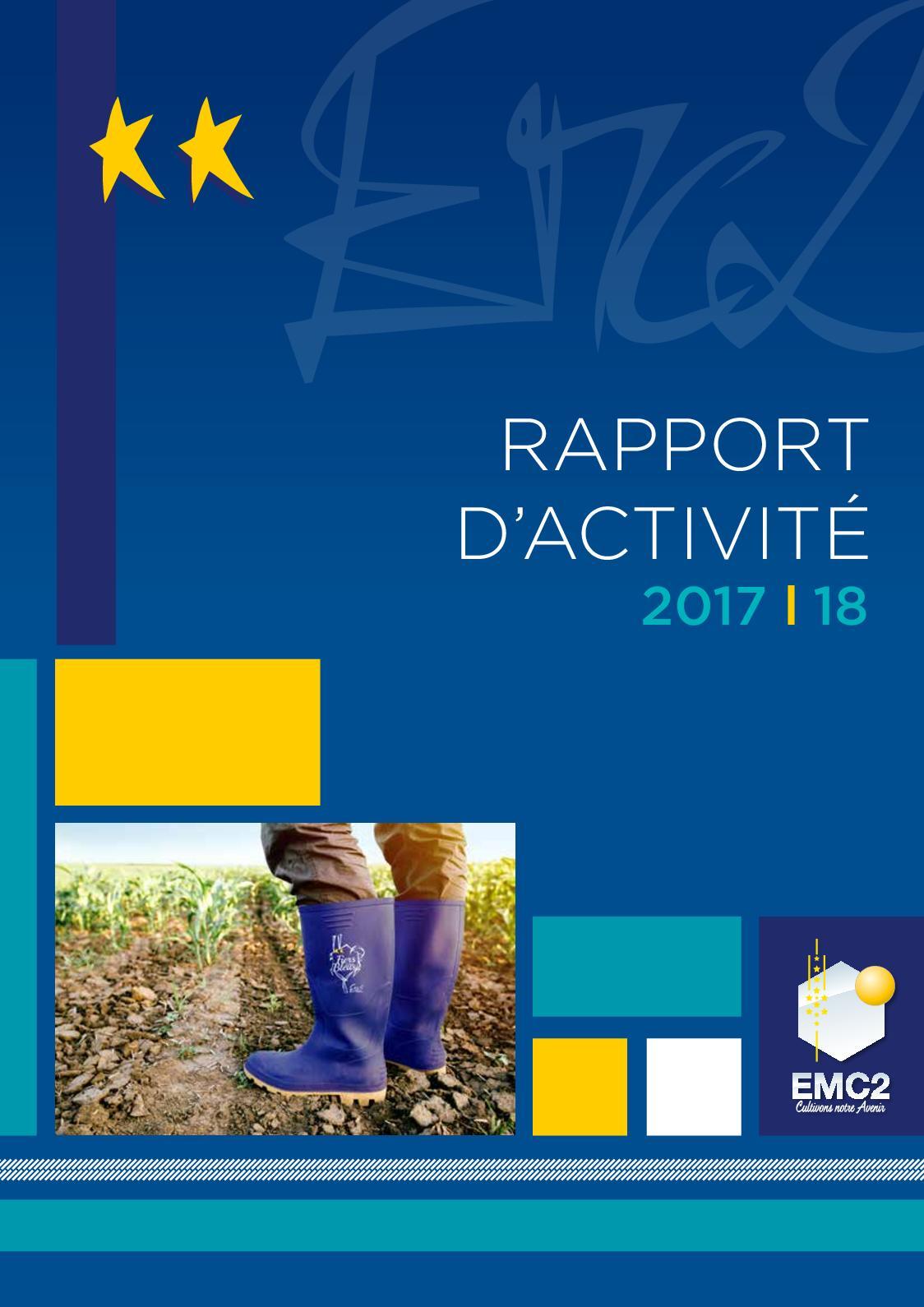Rapport d'activité 2017/2018
