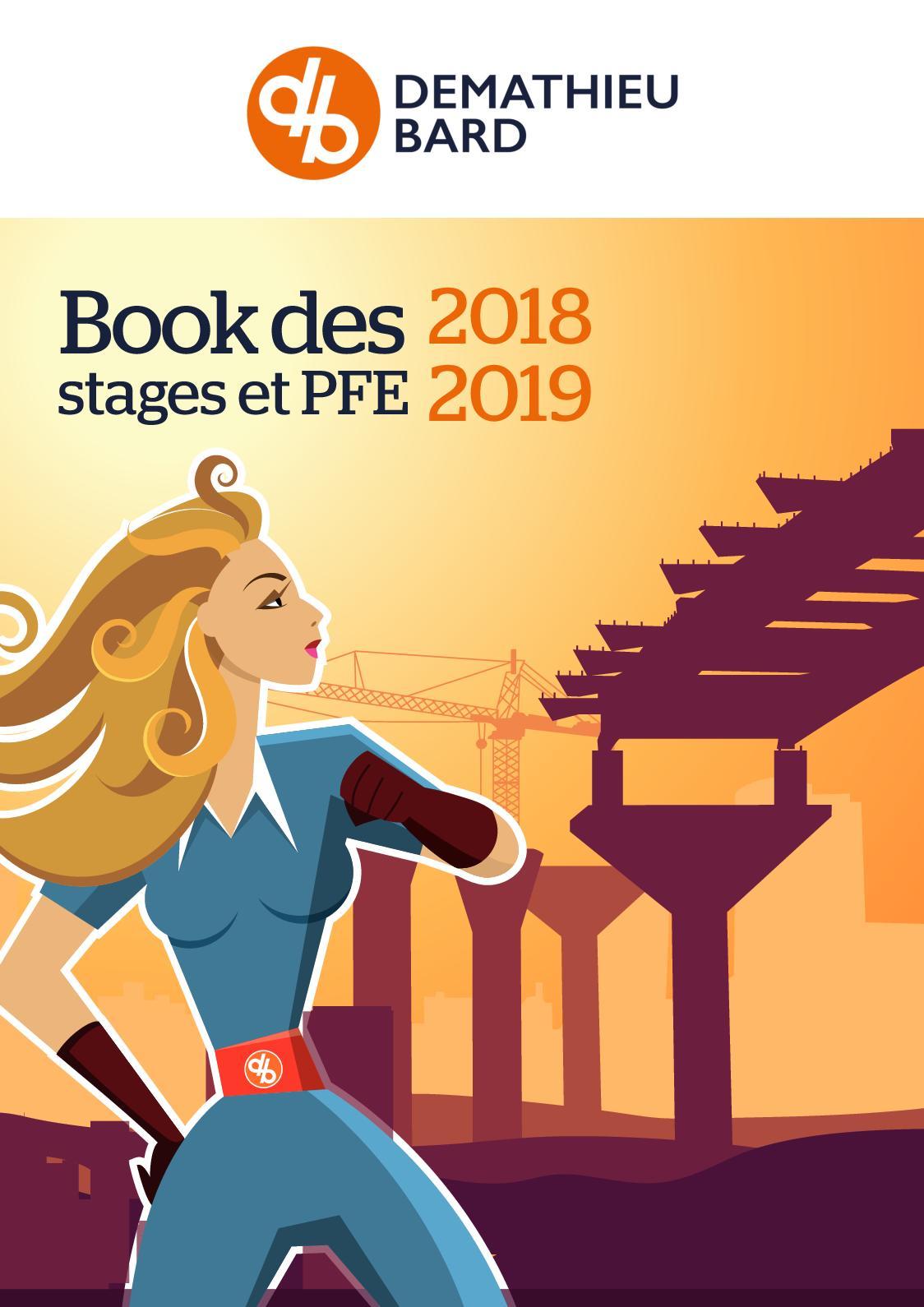 DEMATHIEU BARD - Offres de stages et projets de fin d'études - 2018 2019