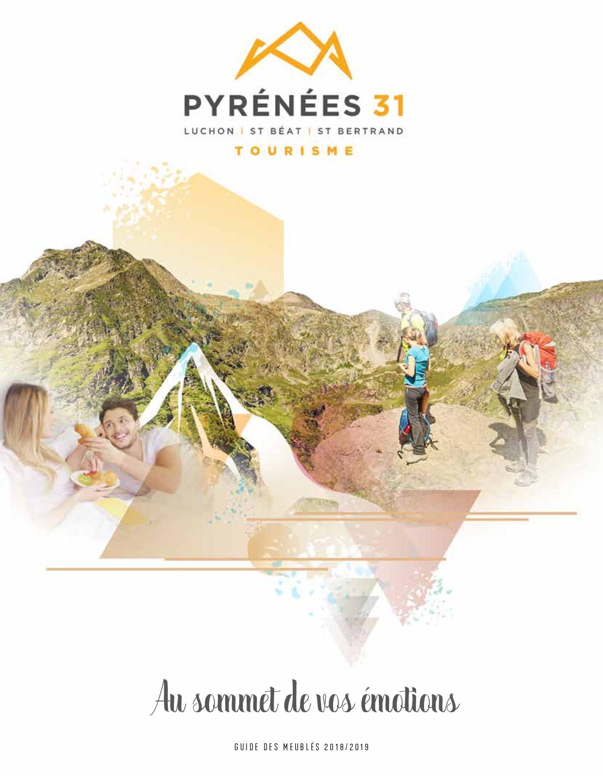 Guide Des Meublés 2019 : Pyrénées 31, Au Sommet de vos Émotions