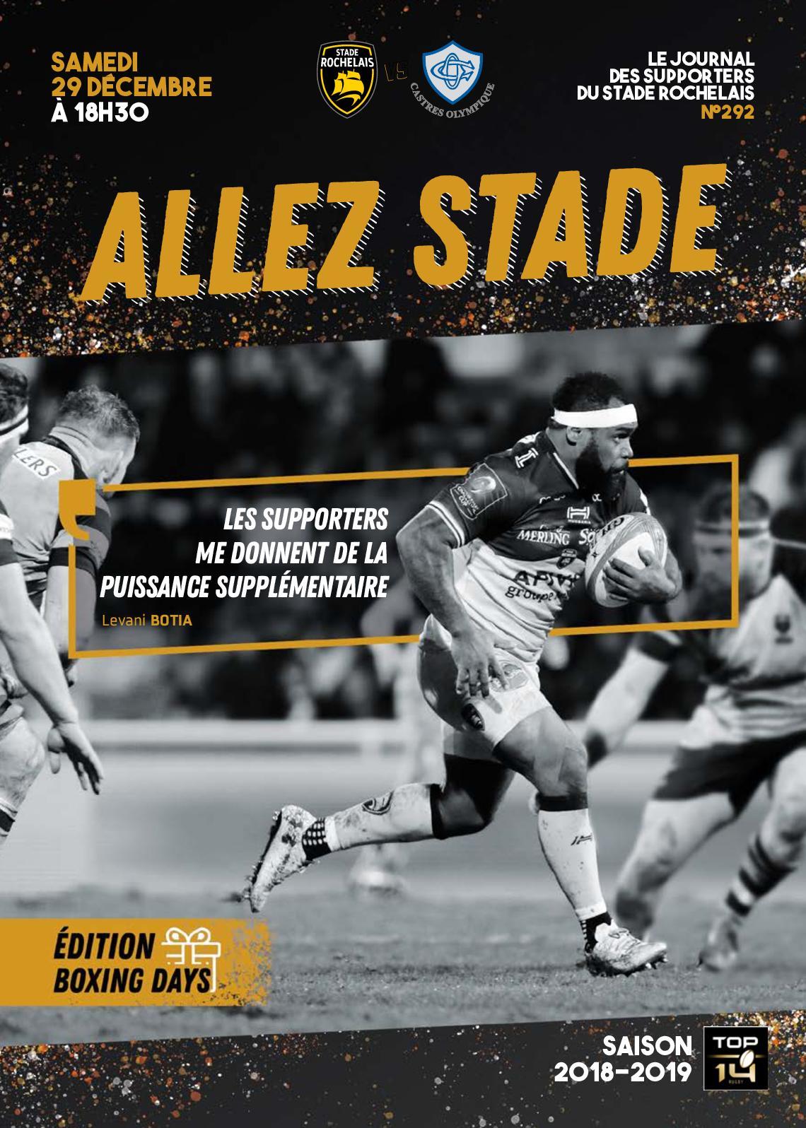 ALLEZ STADE N°292