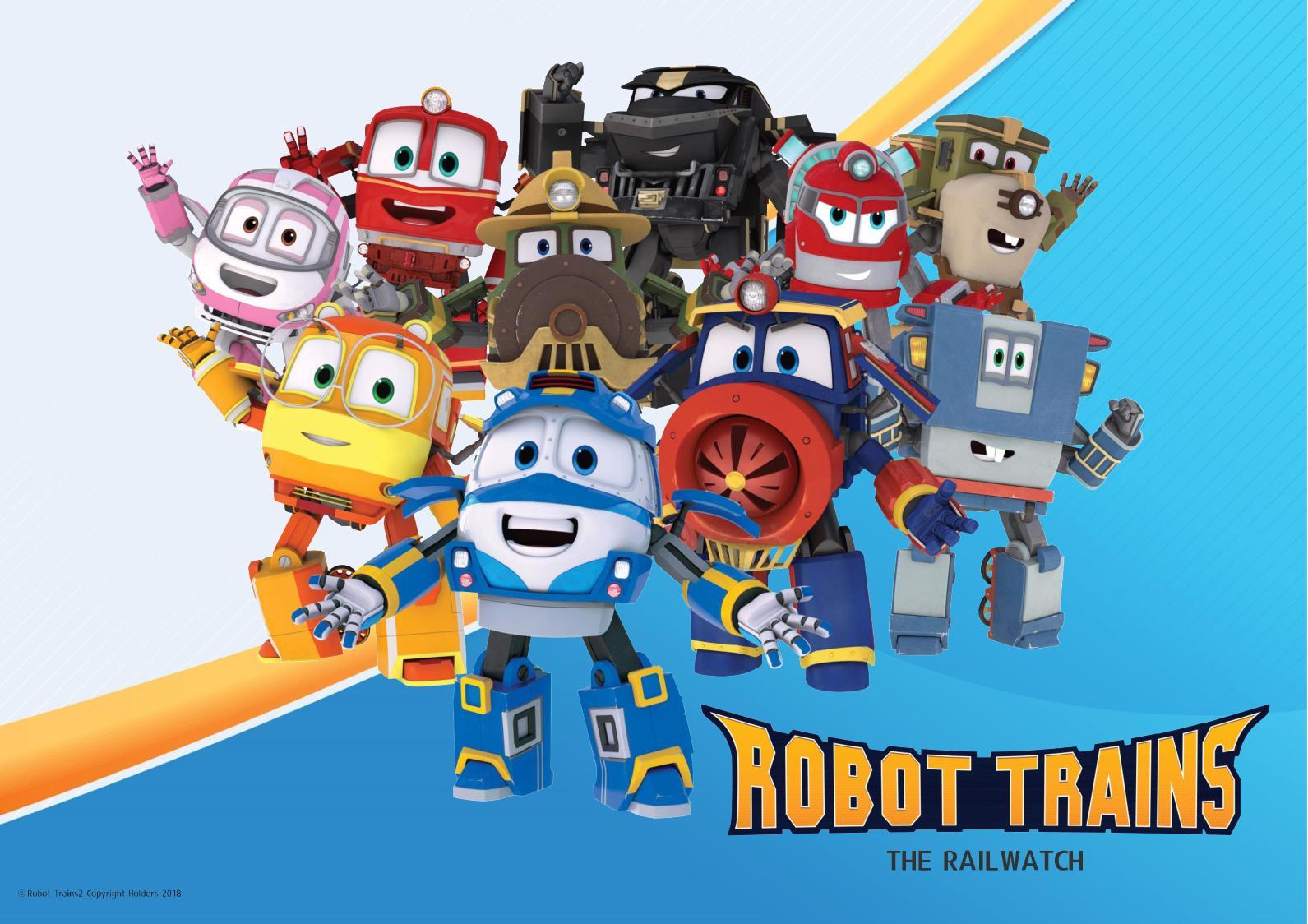 Robot Trains - Brand Presentation