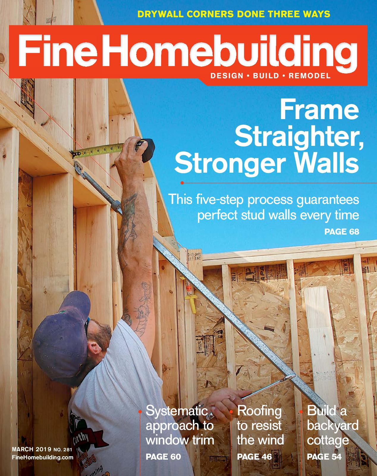 Fine Homebuilding No. 281 – Preview