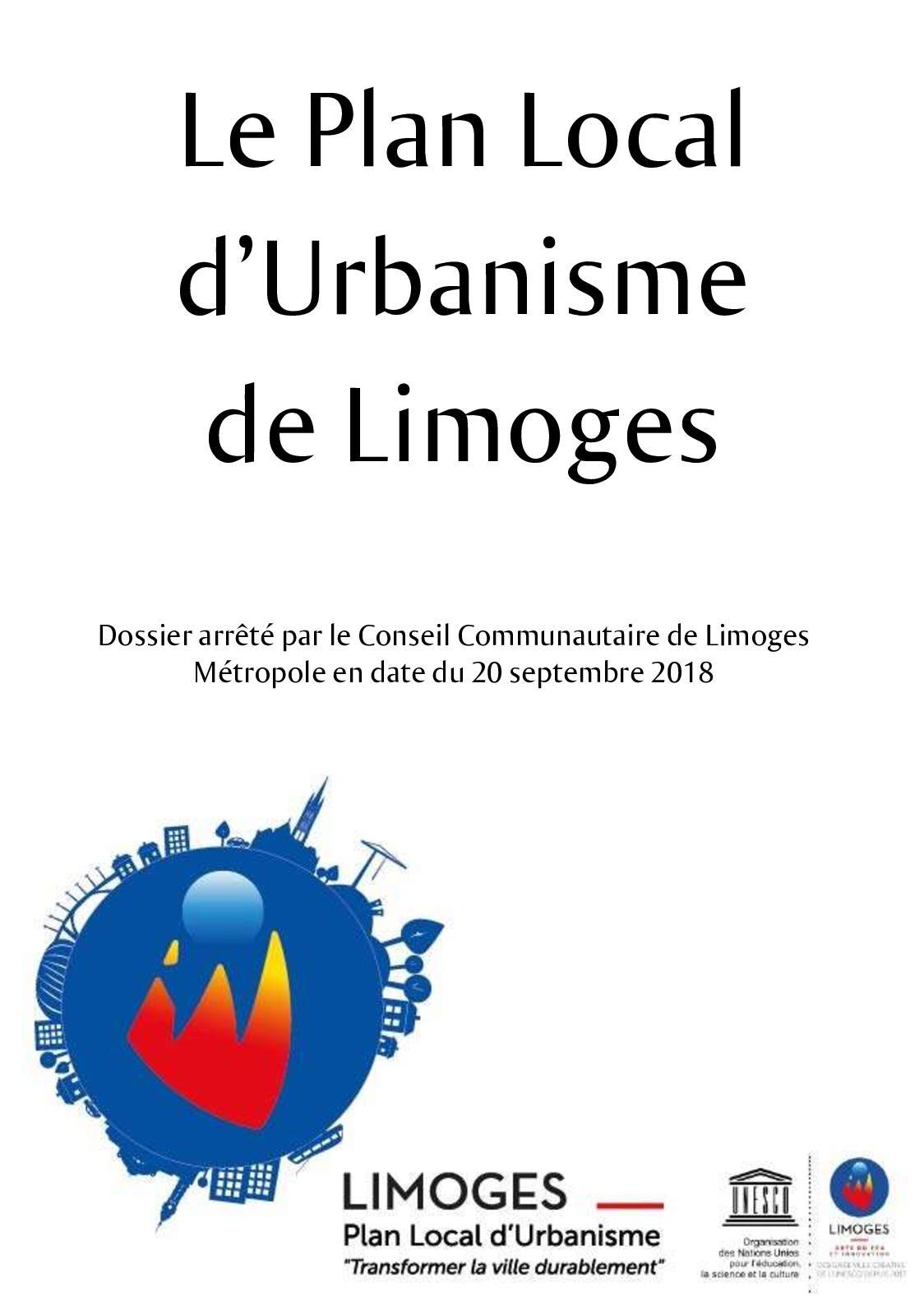Plan Local d'Urbanisme 2019