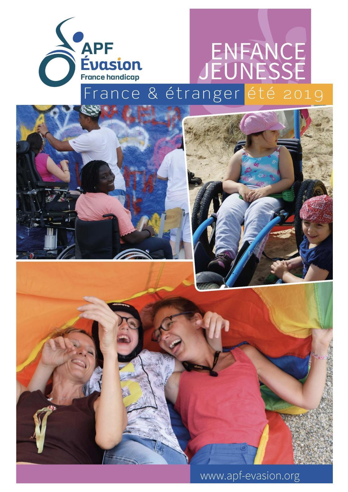 Catalogue Jeunes APF Evasion 2019