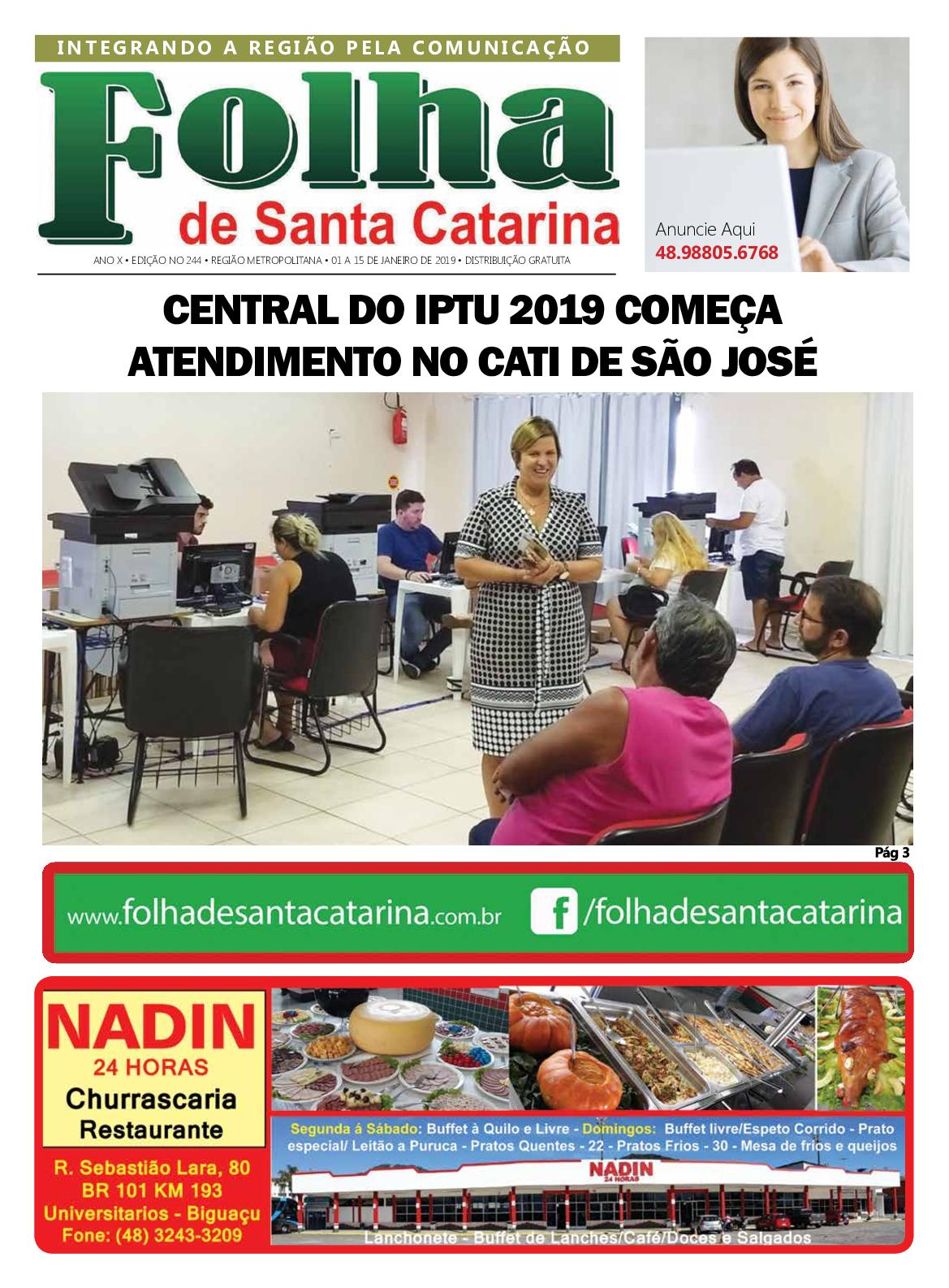 Folha 244 Web