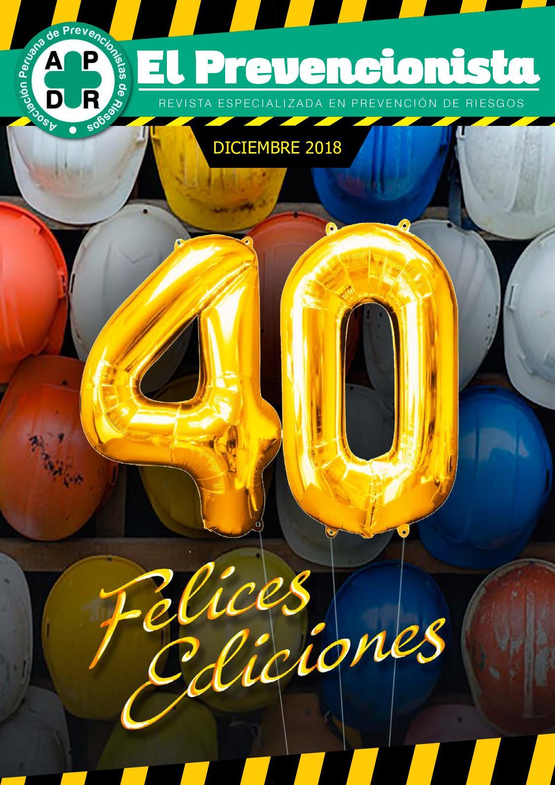 Revista El Prevencionista Edición 40