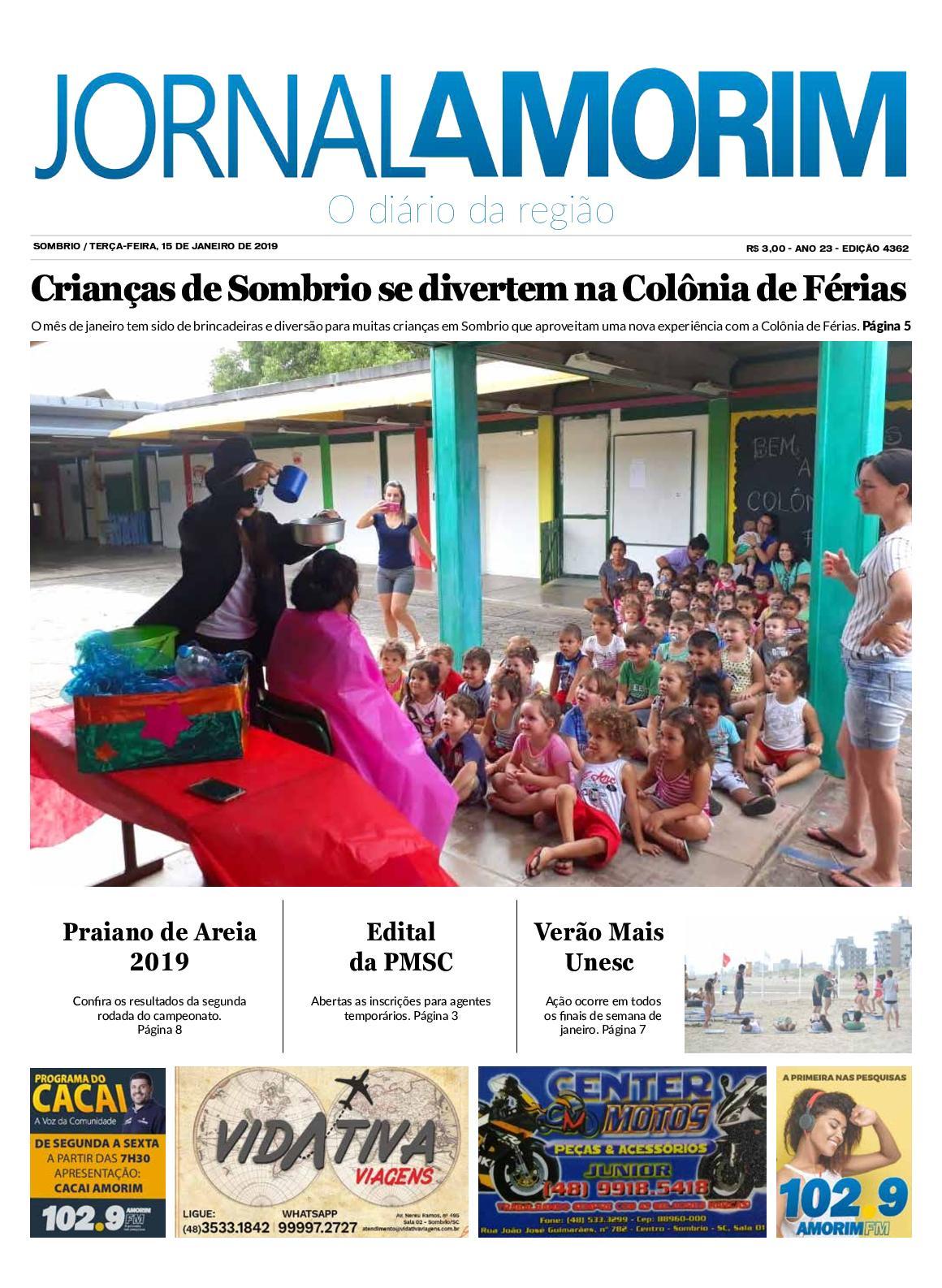 Jornal Amorim - 15 - 01 -19
