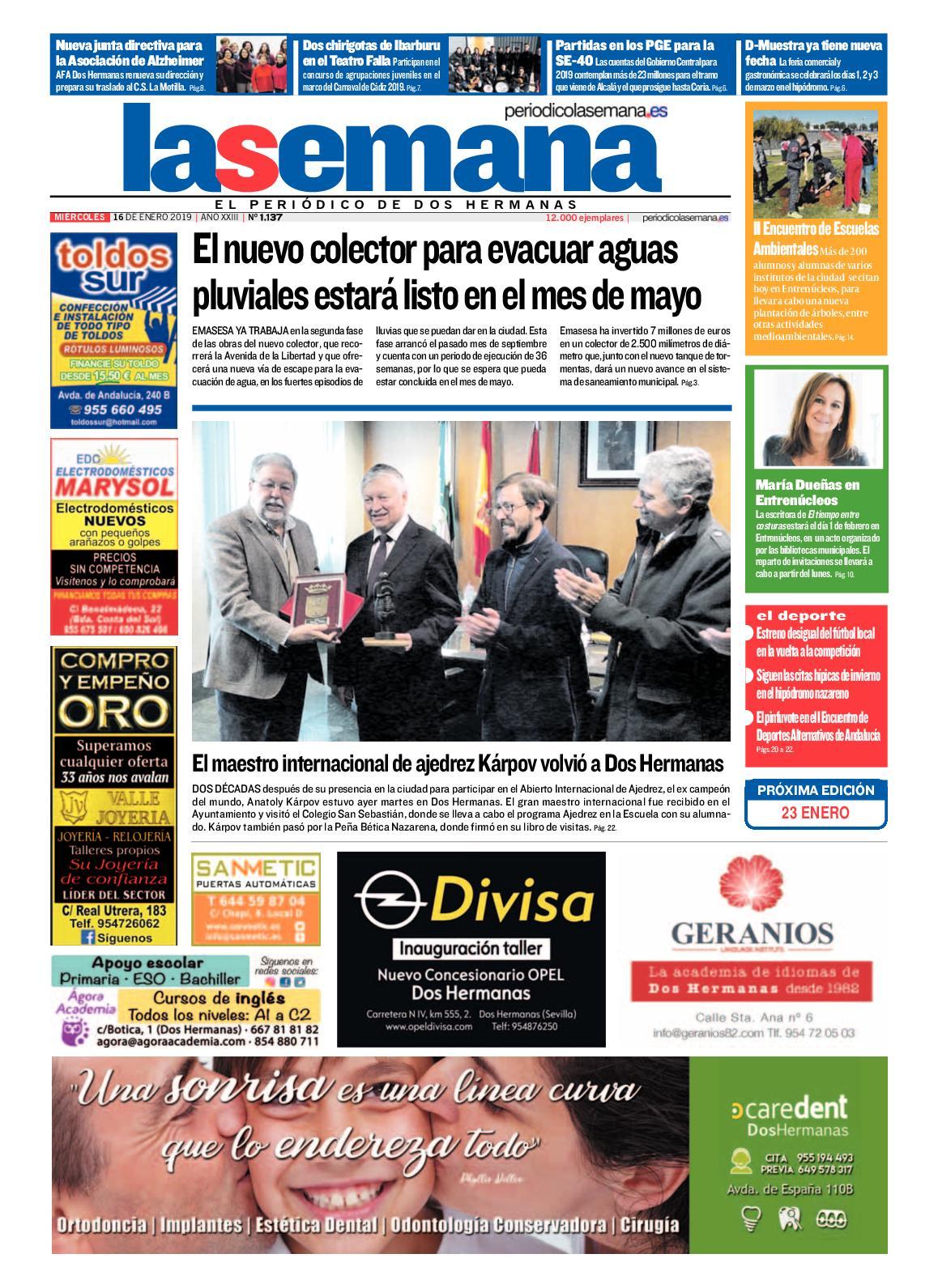 Periódico La Semana 1137